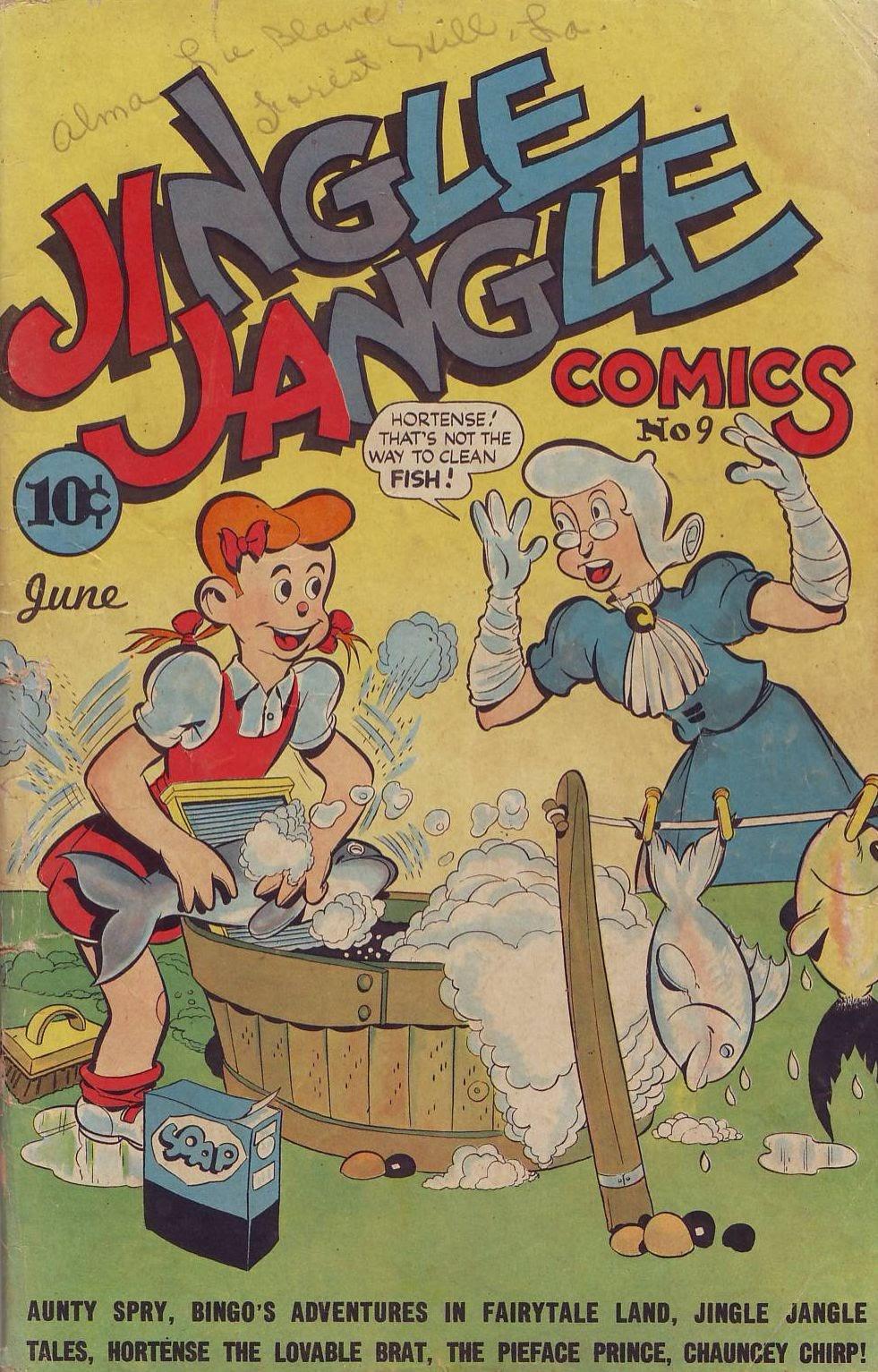 Jingle Jangle Comics 9 Page 1