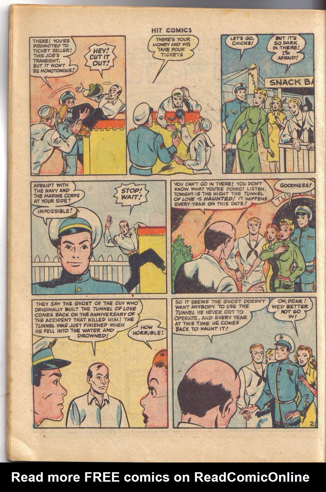 Read online Hit Comics comic -  Issue #45 - 19