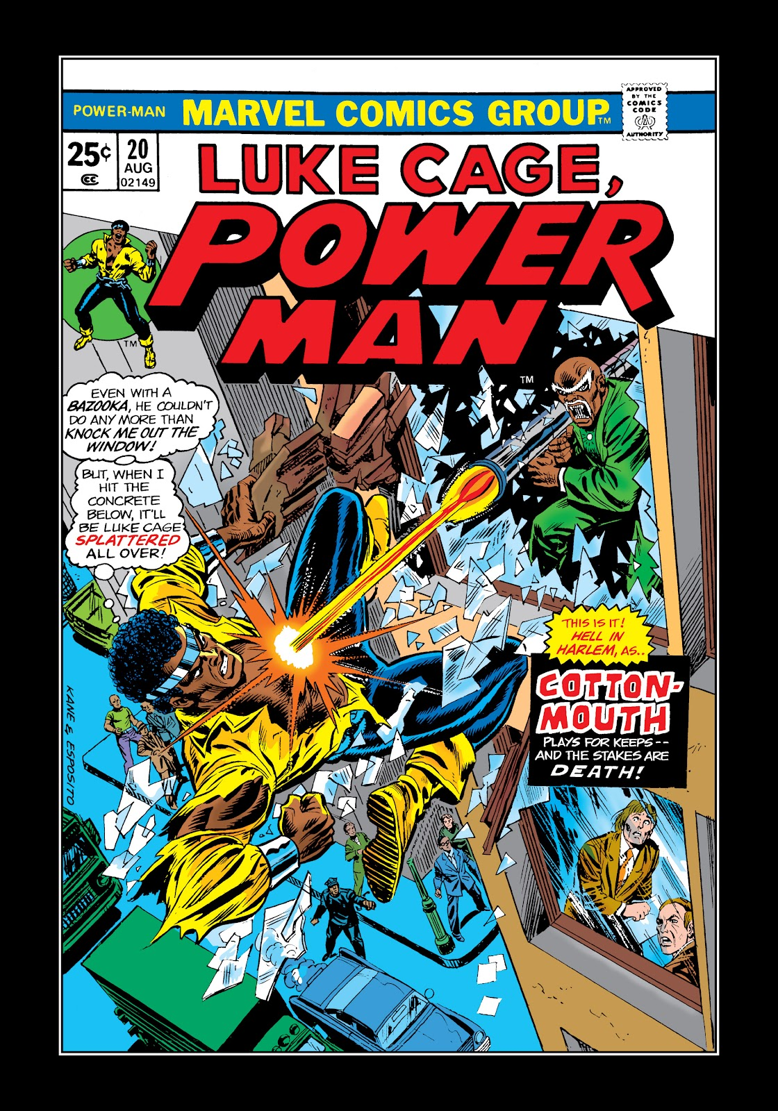 Read online Marvel Masterworks: Luke Cage, Power Man comic -  Issue # TPB 2 (Part 1) - 68