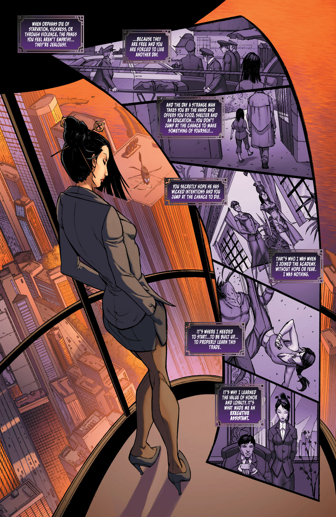 Read online All New Executive Assistant: Iris comic -  Issue #1 - 6