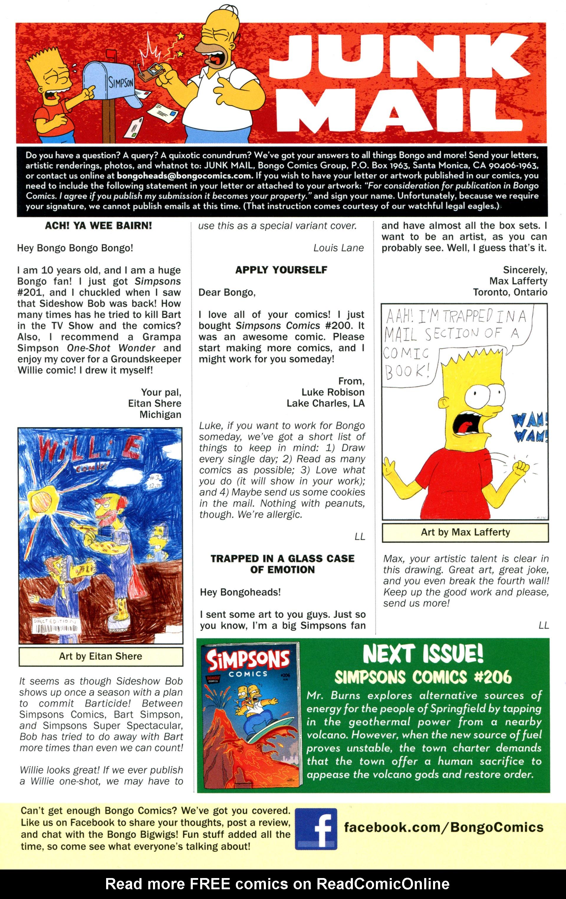Read online Simpsons Comics comic -  Issue #205 - 28