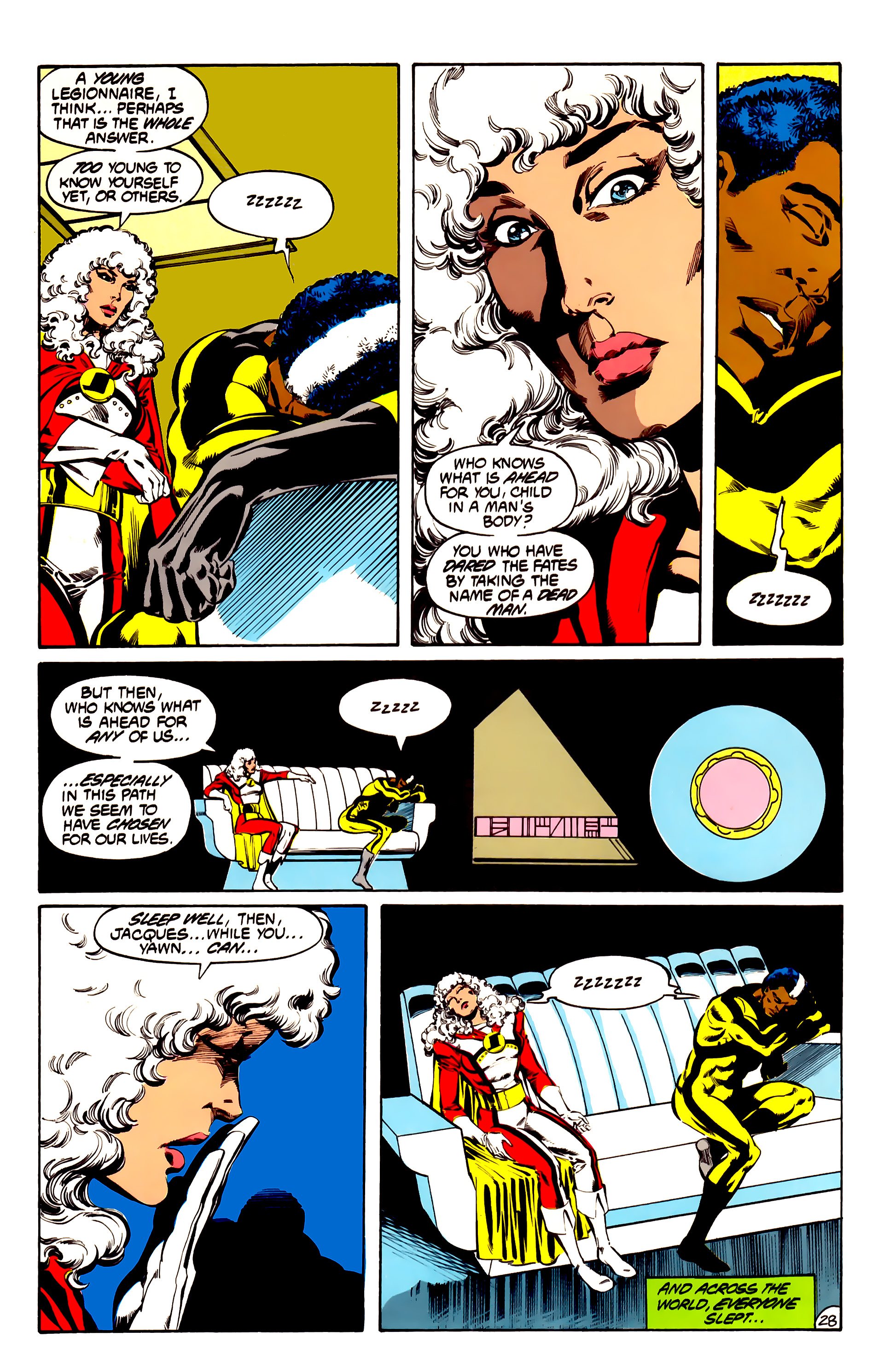 Legion of Super-Heroes (1984) 31 Page 28