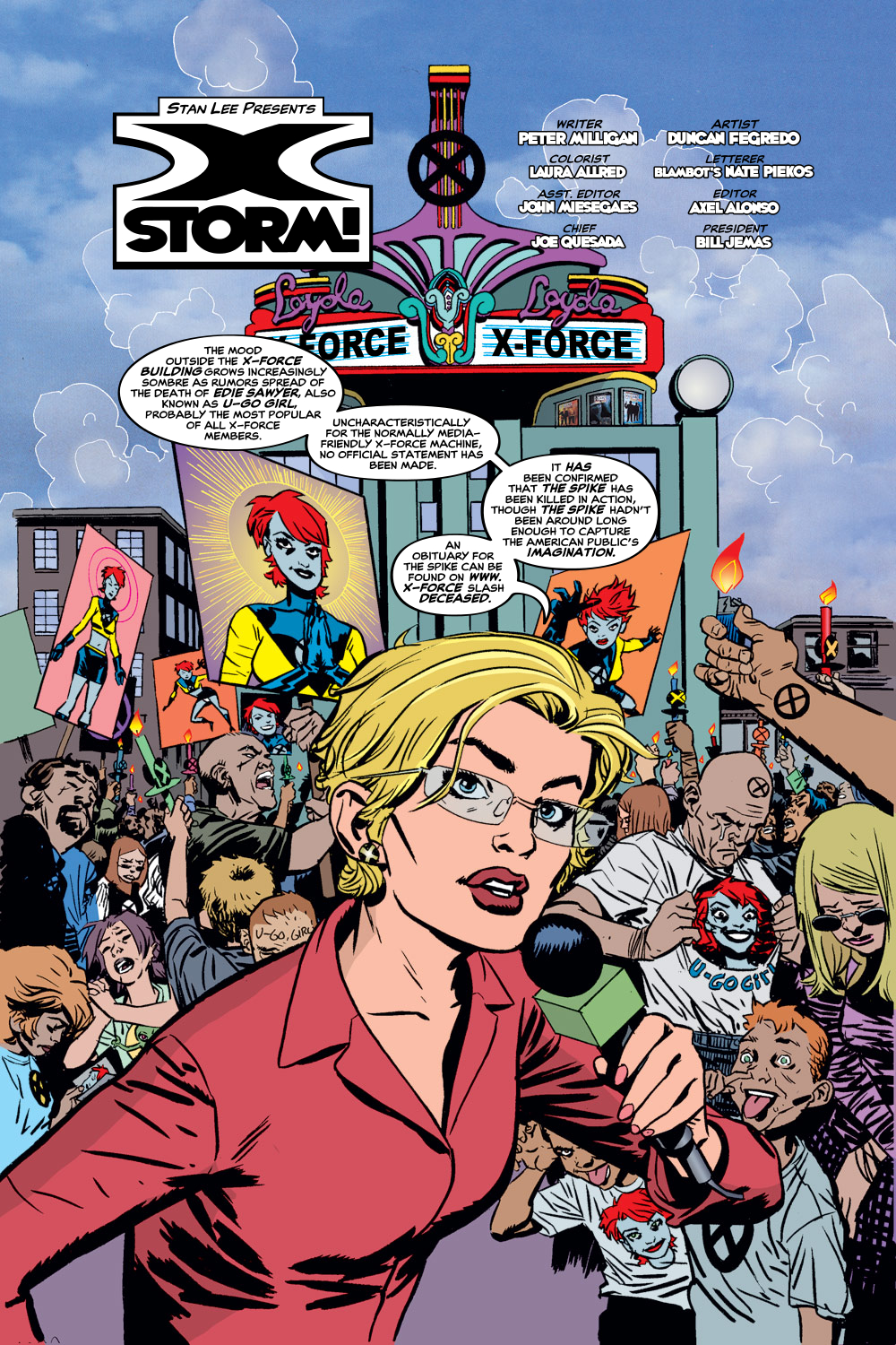 Read online X-Force (1991) comic -  Issue #129 - 3