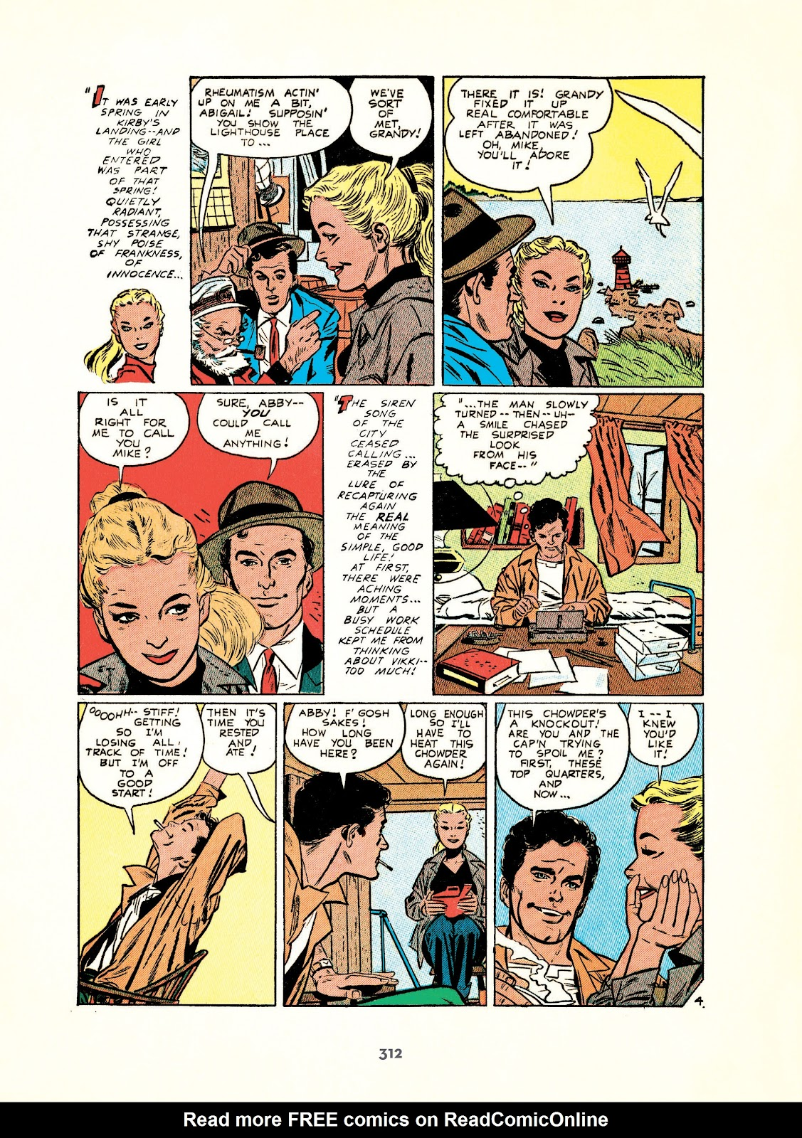 Read online Setting the Standard: Comics by Alex Toth 1952-1954 comic -  Issue # TPB (Part 4) - 13