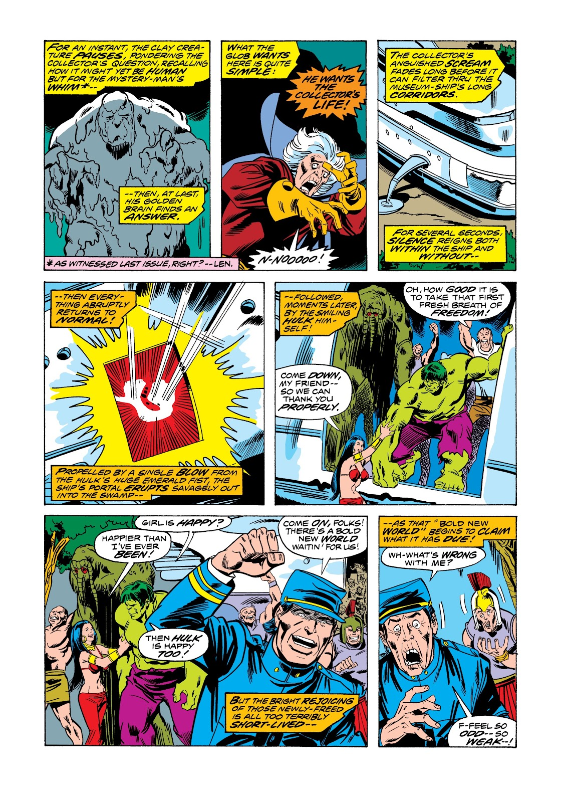 Read online Marvel Masterworks: The Incredible Hulk comic -  Issue # TPB 12 (Part 1) - 44