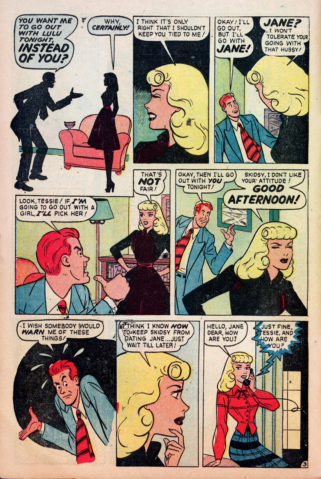 Read online Comedy Comics (1948) comic -  Issue #6 - 12