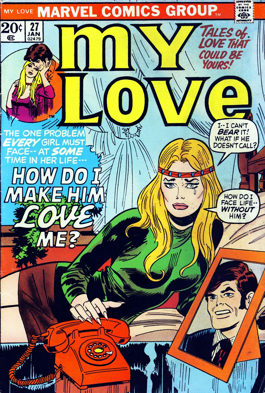 My Love (1969) issue 27 - Page 1
