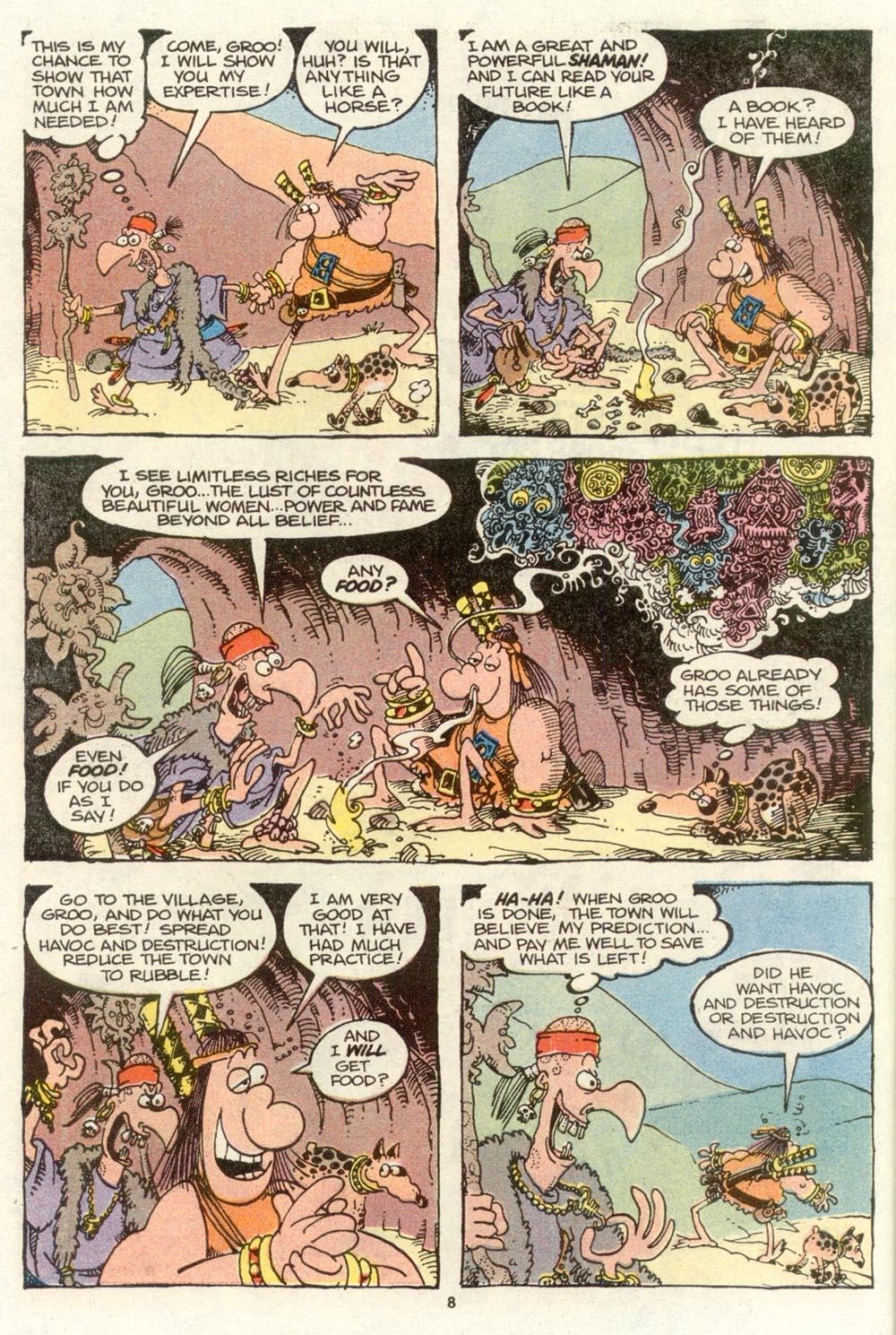 Read online Sergio Aragonés Groo the Wanderer comic -  Issue #72 - 6