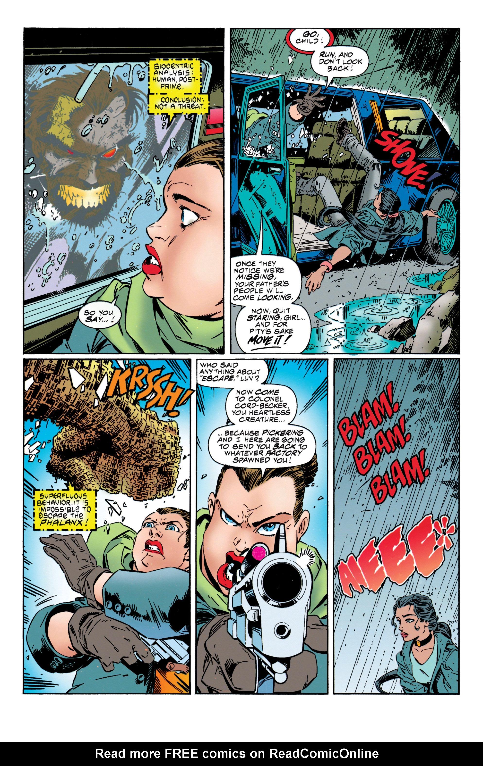 Read online Uncanny X-Men (1963) comic -  Issue #316 - 5