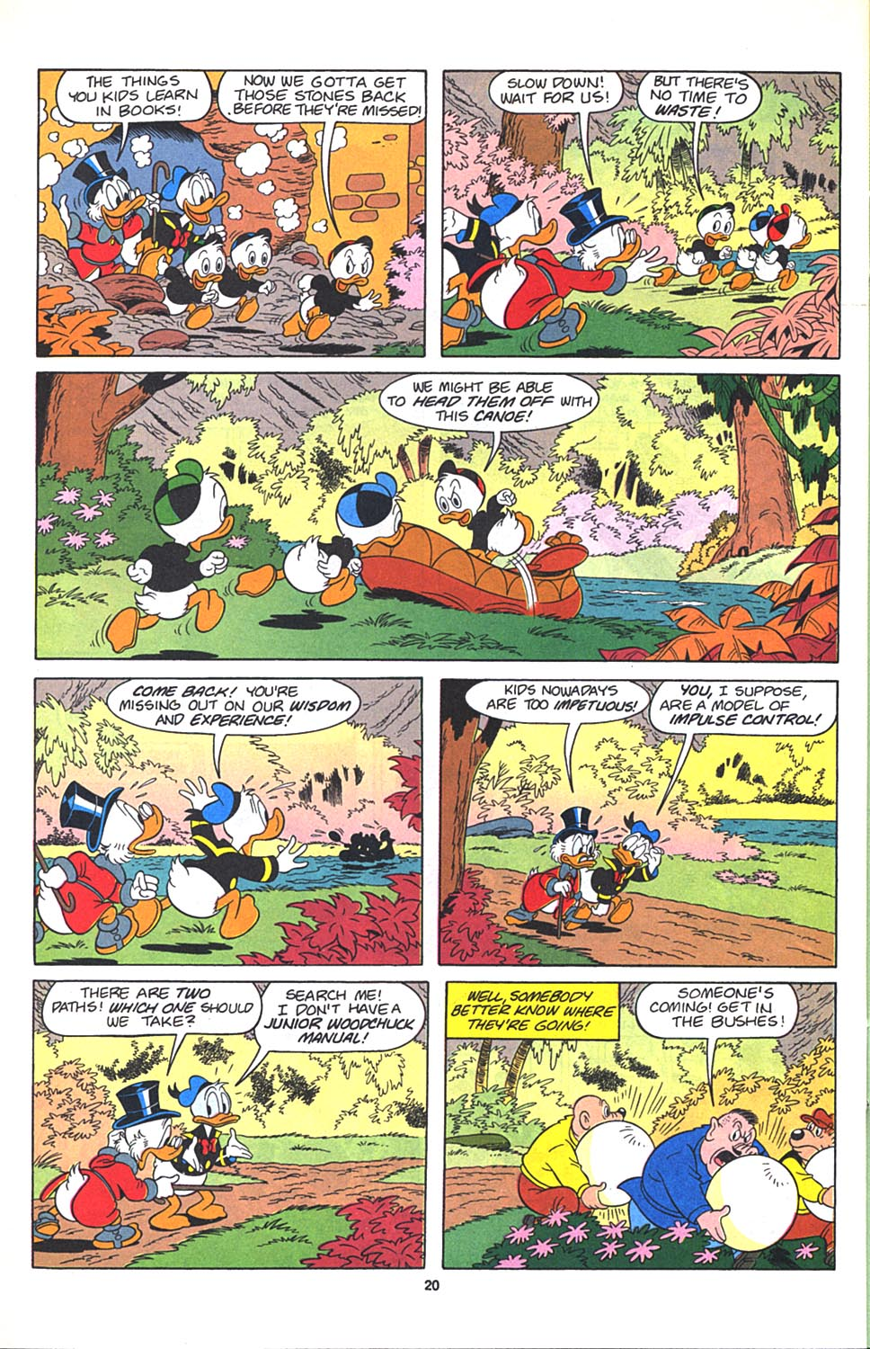Read online Uncle Scrooge (1953) comic -  Issue #271 - 21