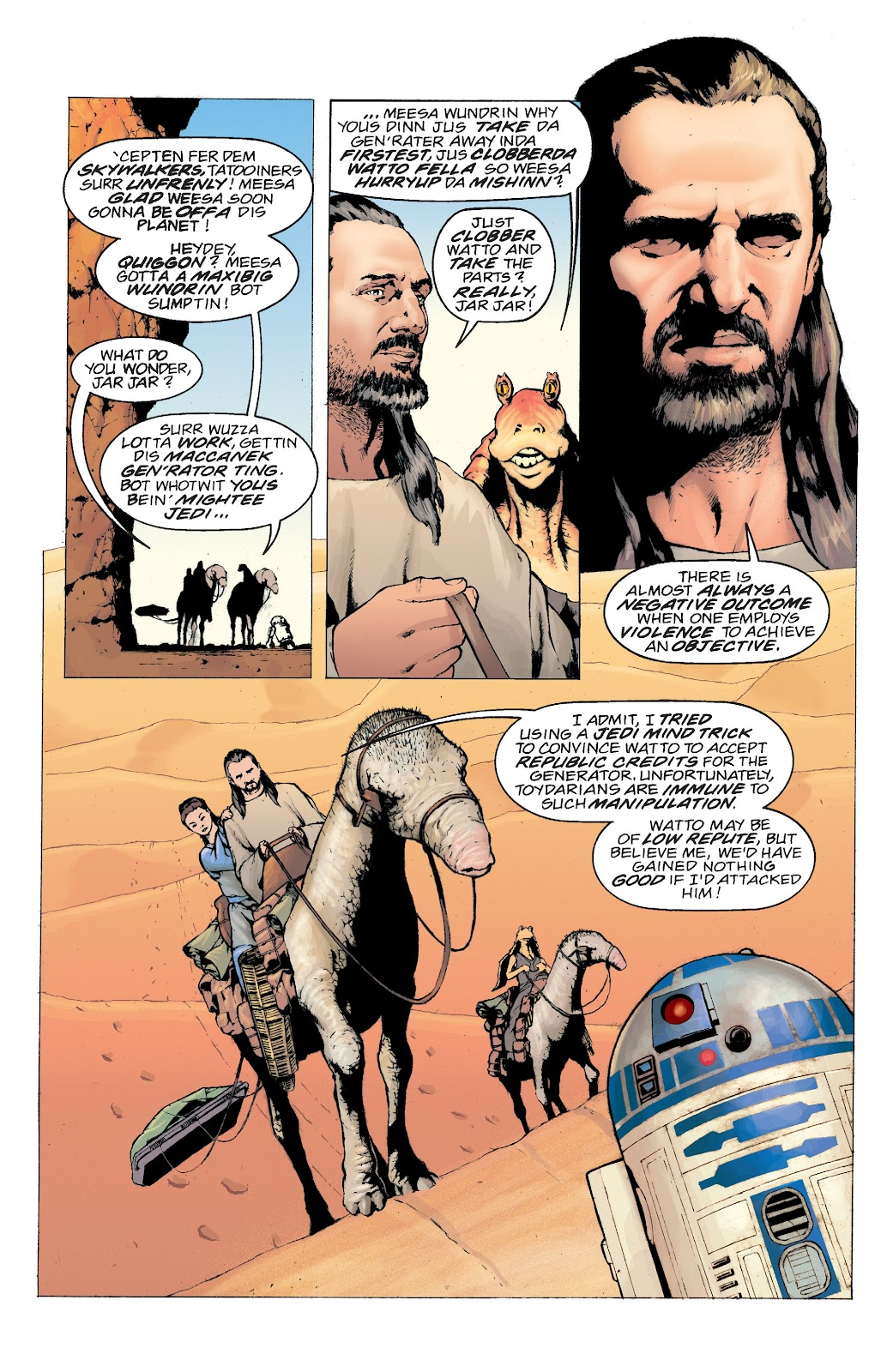 Read online Star Wars Legends: Rise of the Sith - Epic Collection comic -  Issue # TPB 2 (Part 4) - 100