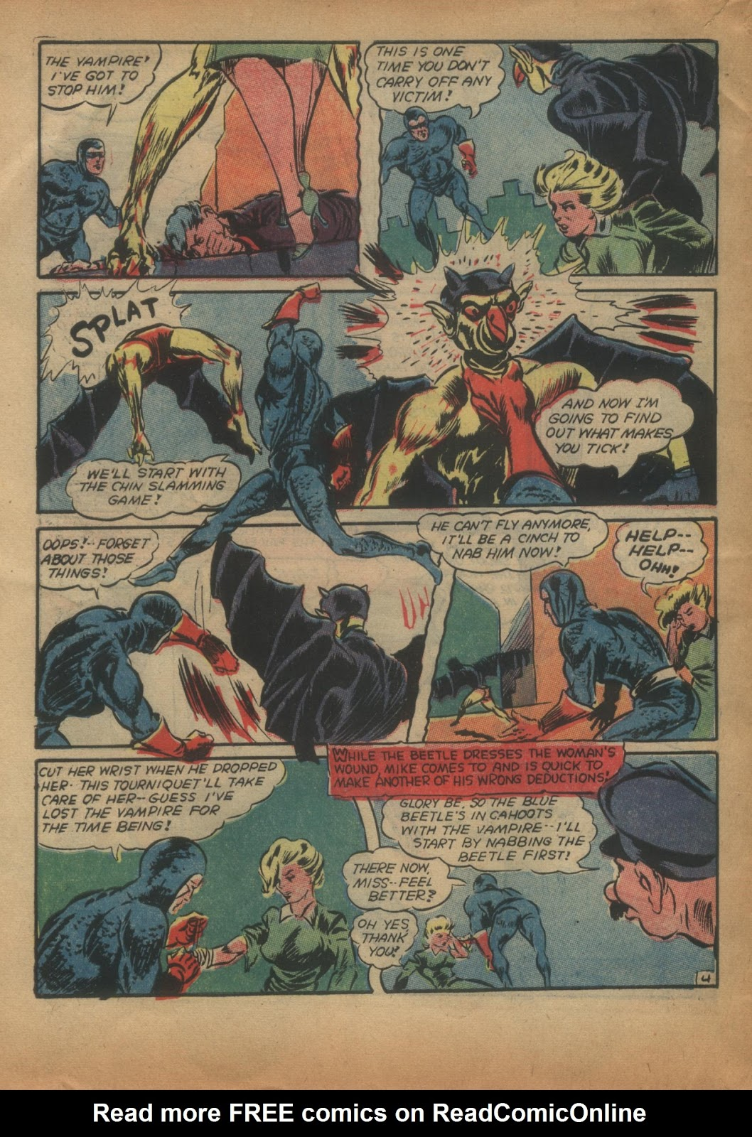 The Blue Beetle issue 15 - Page 56