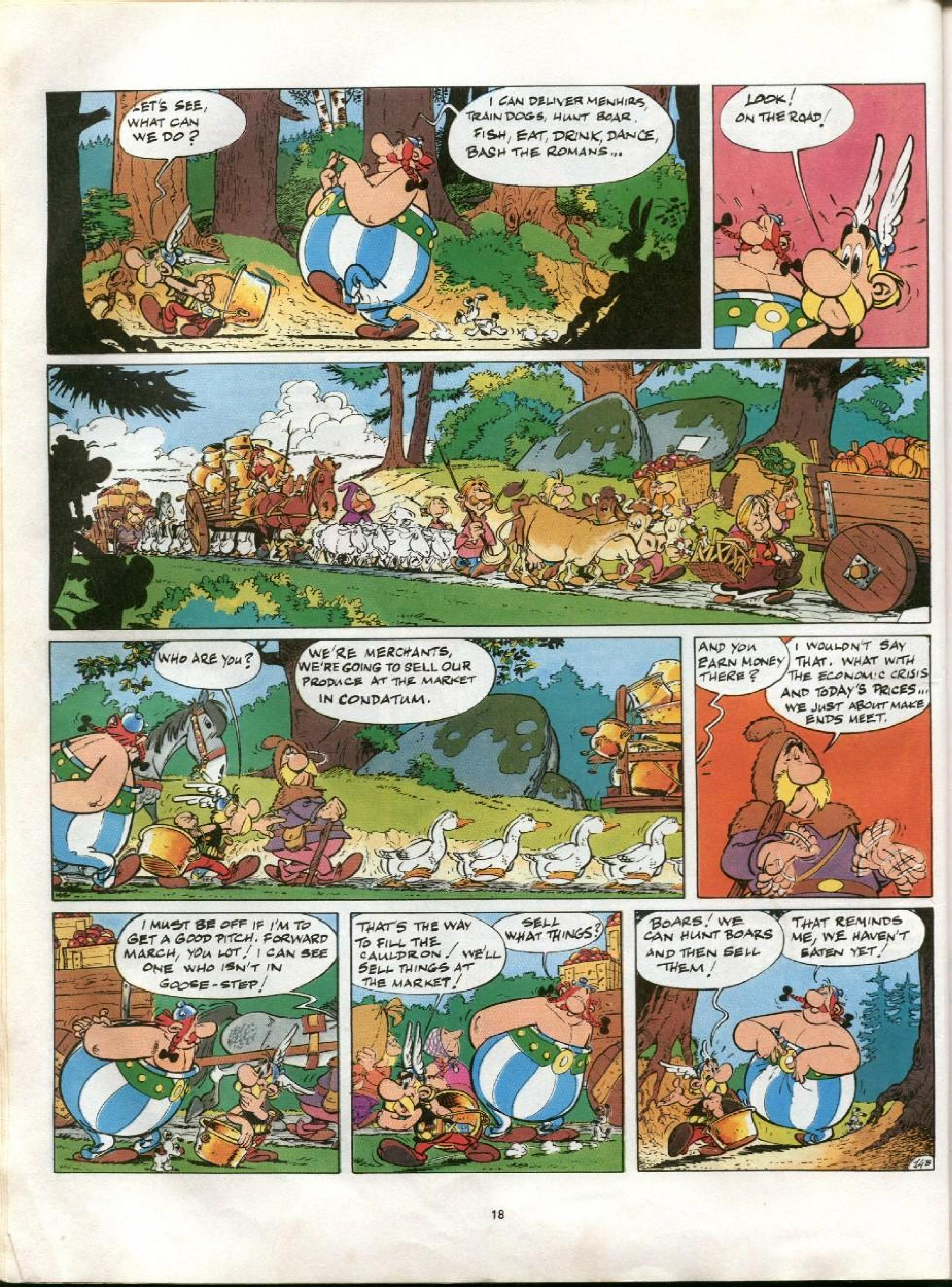 Read online Asterix comic -  Issue #13 - 15