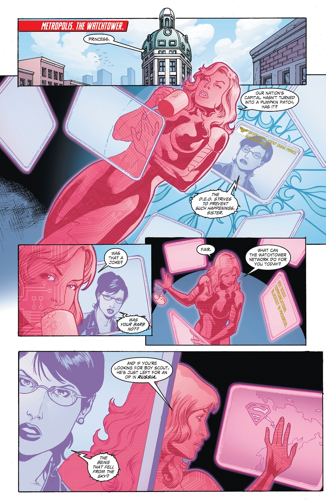 Read online Smallville Season 11 [II] comic -  Issue # TPB 8 - 7
