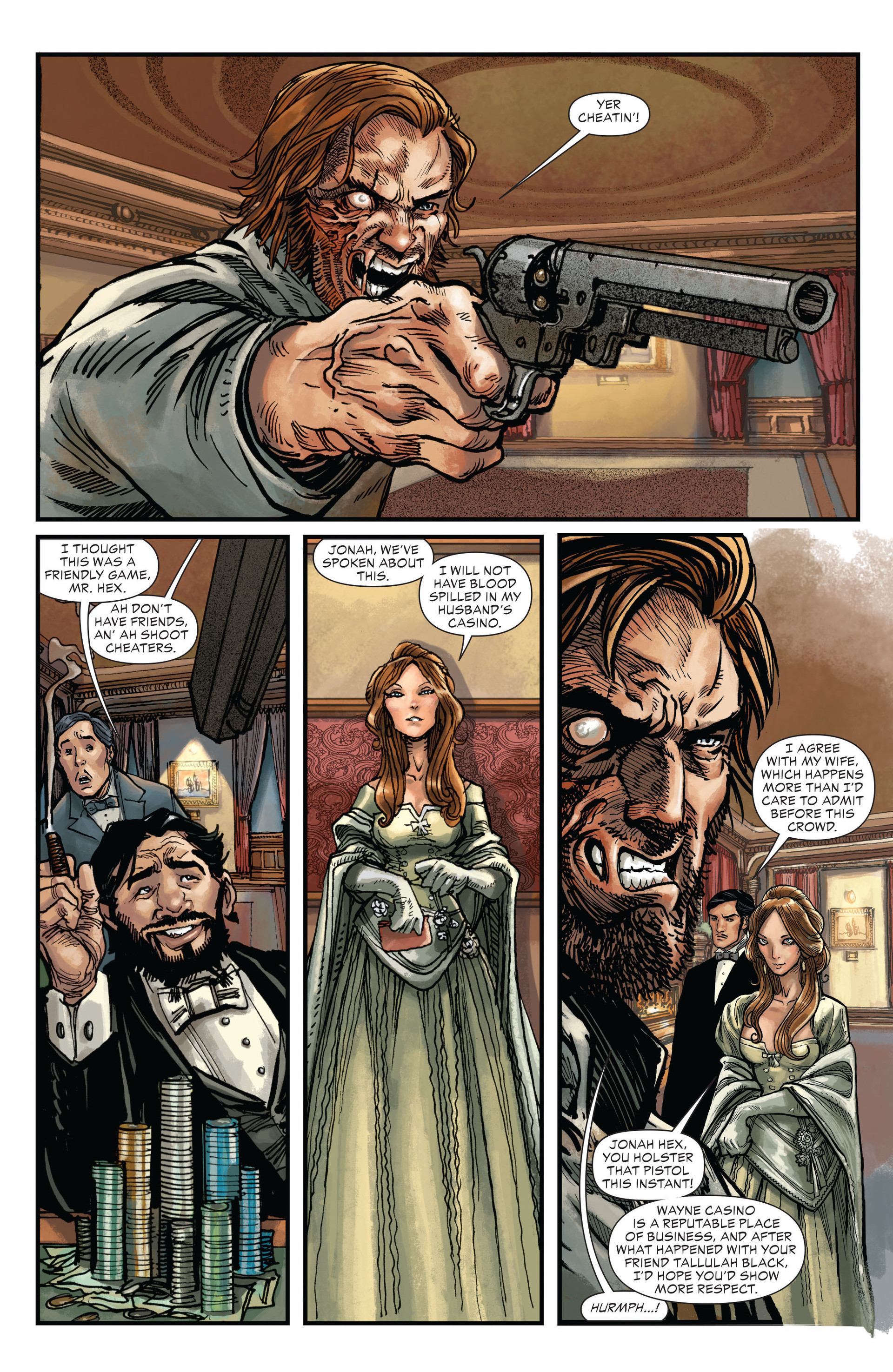 Read online All-Star Western (2011) comic -  Issue #17 - 10