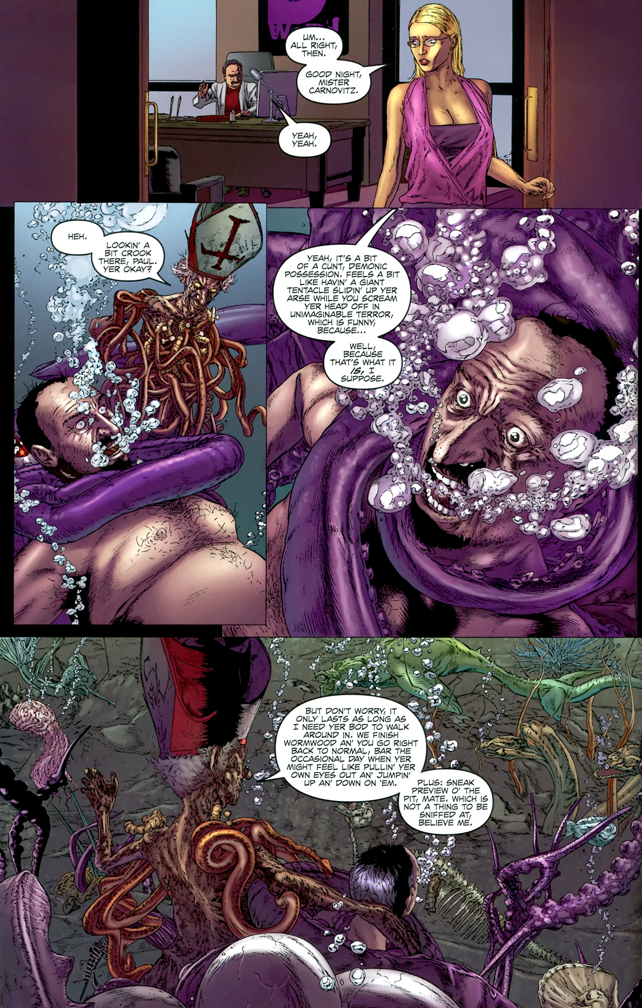 Read online Chronicles of Wormwood: The Last Battle comic -  Issue #4 - 13