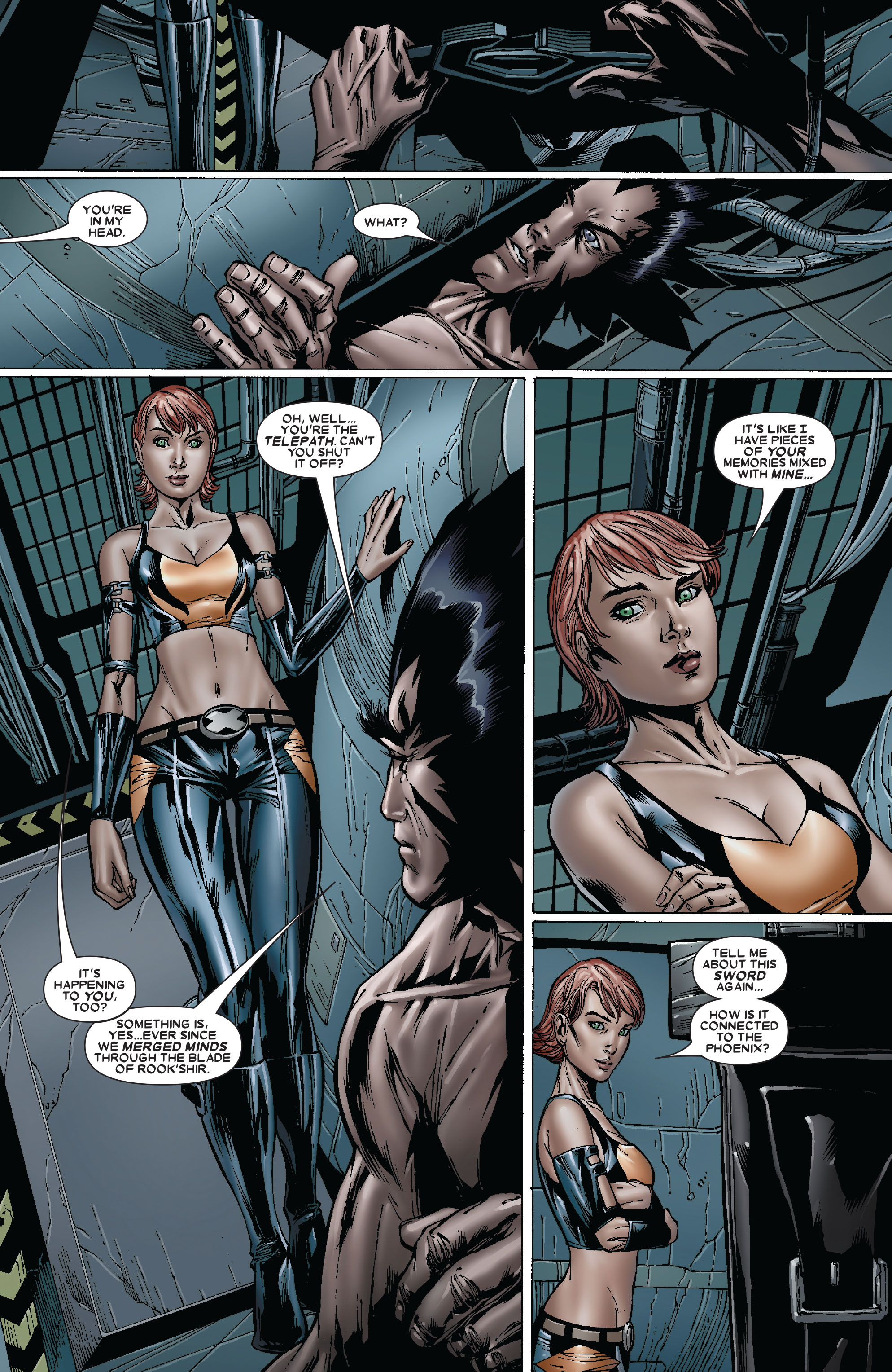 Read online Uncanny X-Men (1963) comic -  Issue #481 - 16