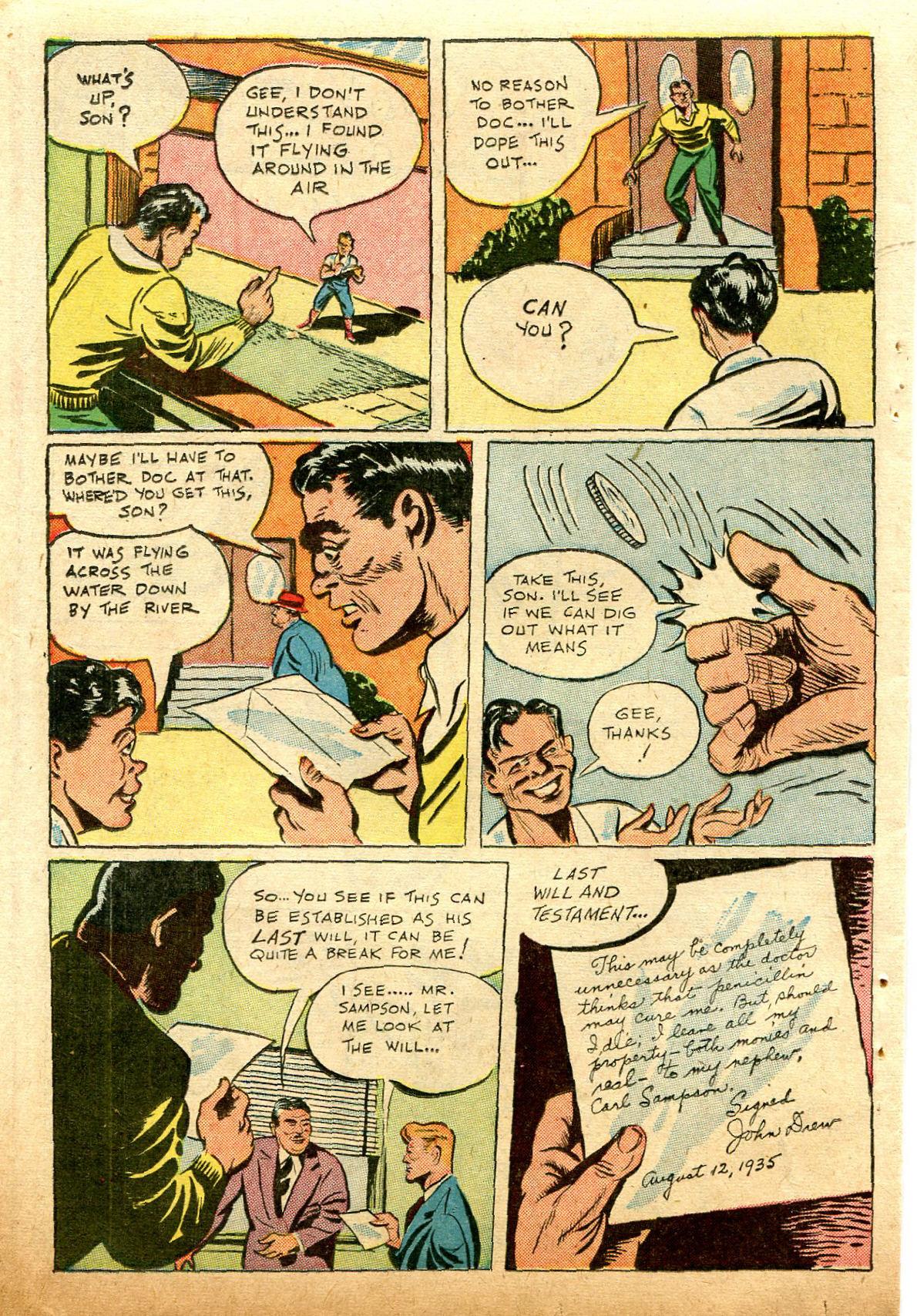 Read online Shadow Comics comic -  Issue #74 - 38