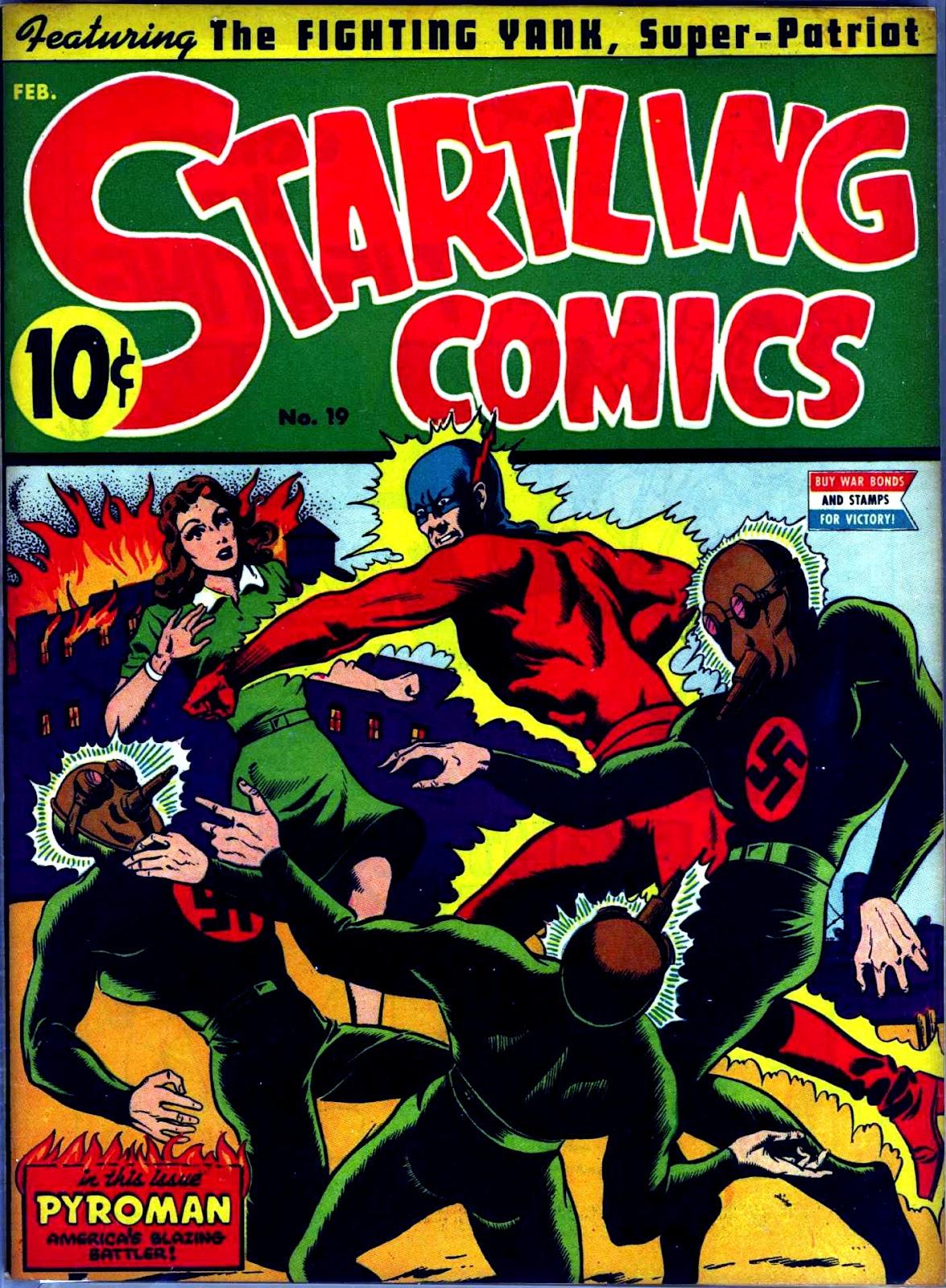 Startling Comics 19 Page 1
