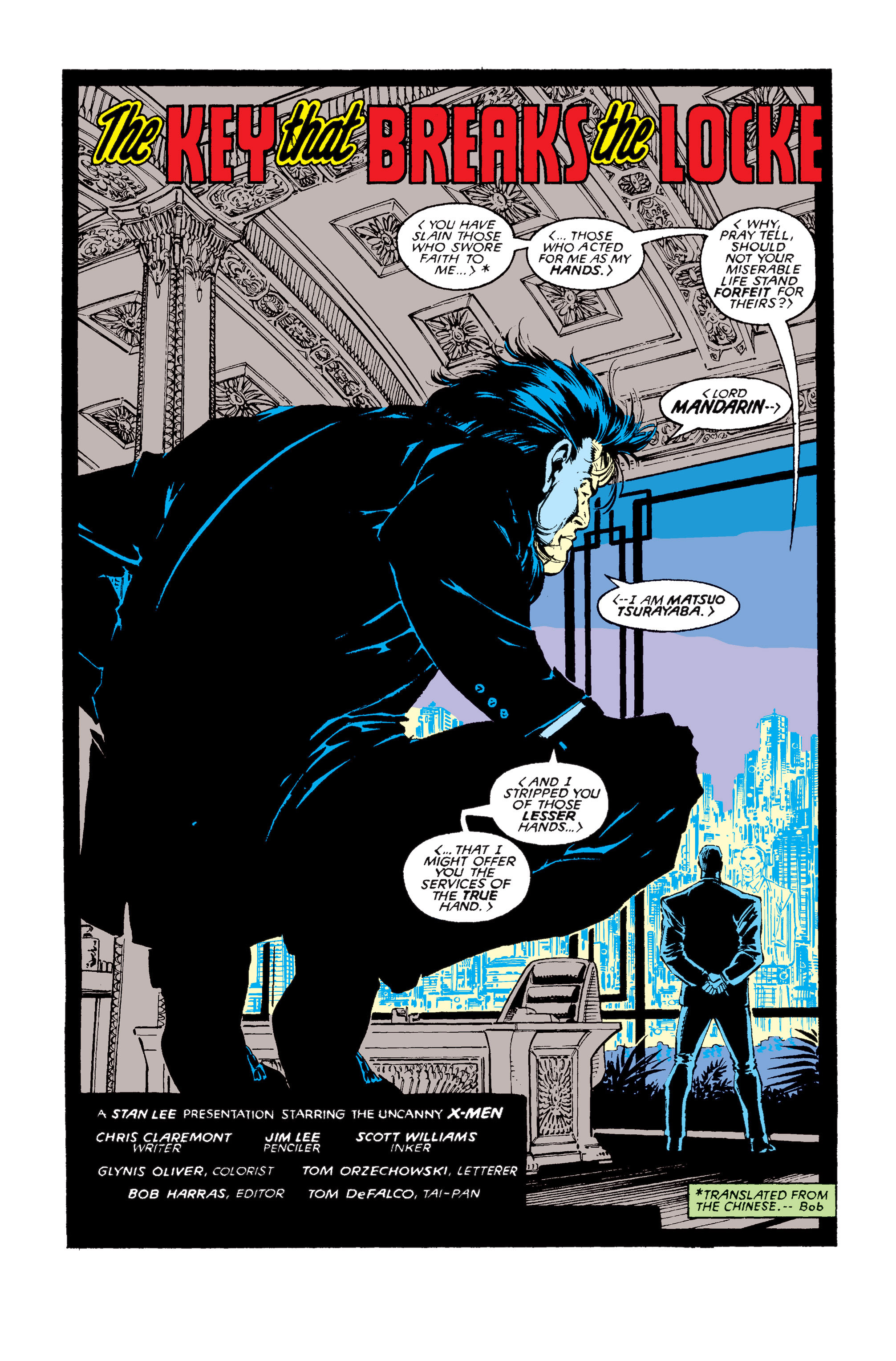Read online Uncanny X-Men (1963) comic -  Issue #256 - 3