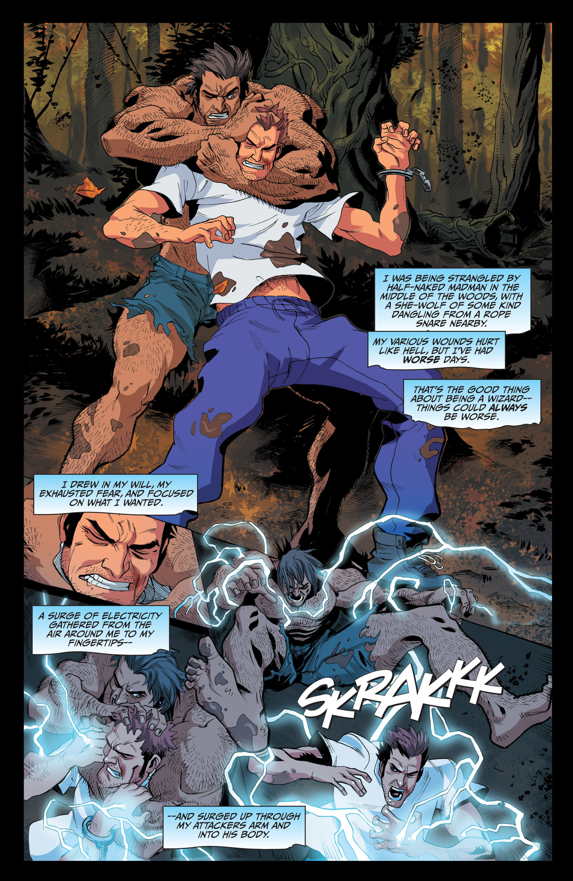 Read online Jim Butcher's The Dresden Files: Fool Moon comic -  Issue #4 - 10