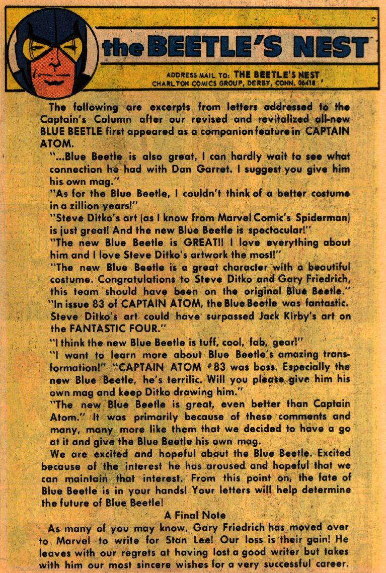 Blue Beetle (1967) issue 1 - Page 25