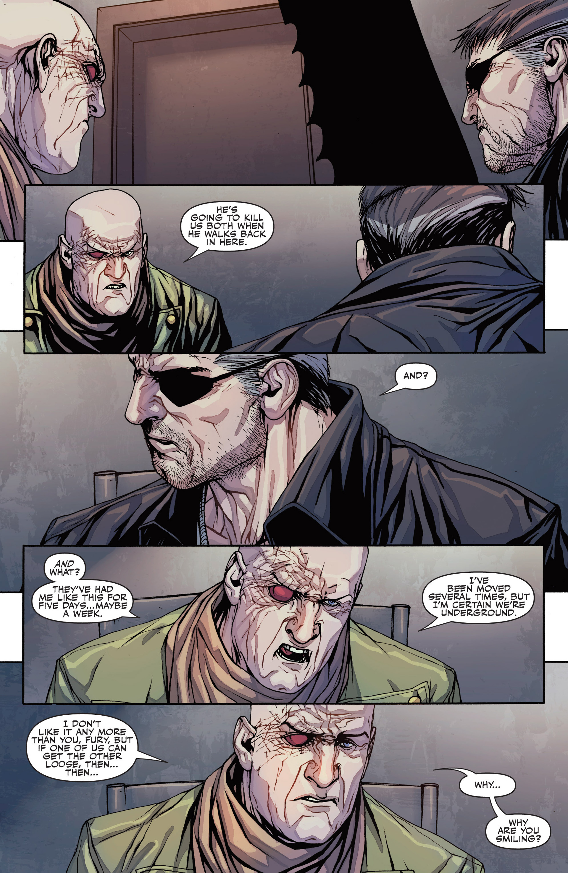 Read online Secret Warriors comic -  Issue #26 - 6