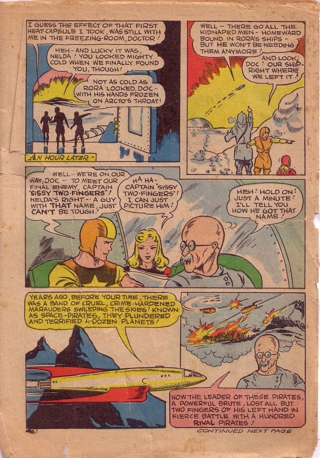 Read online Famous Funnies comic -  Issue #107 - 2