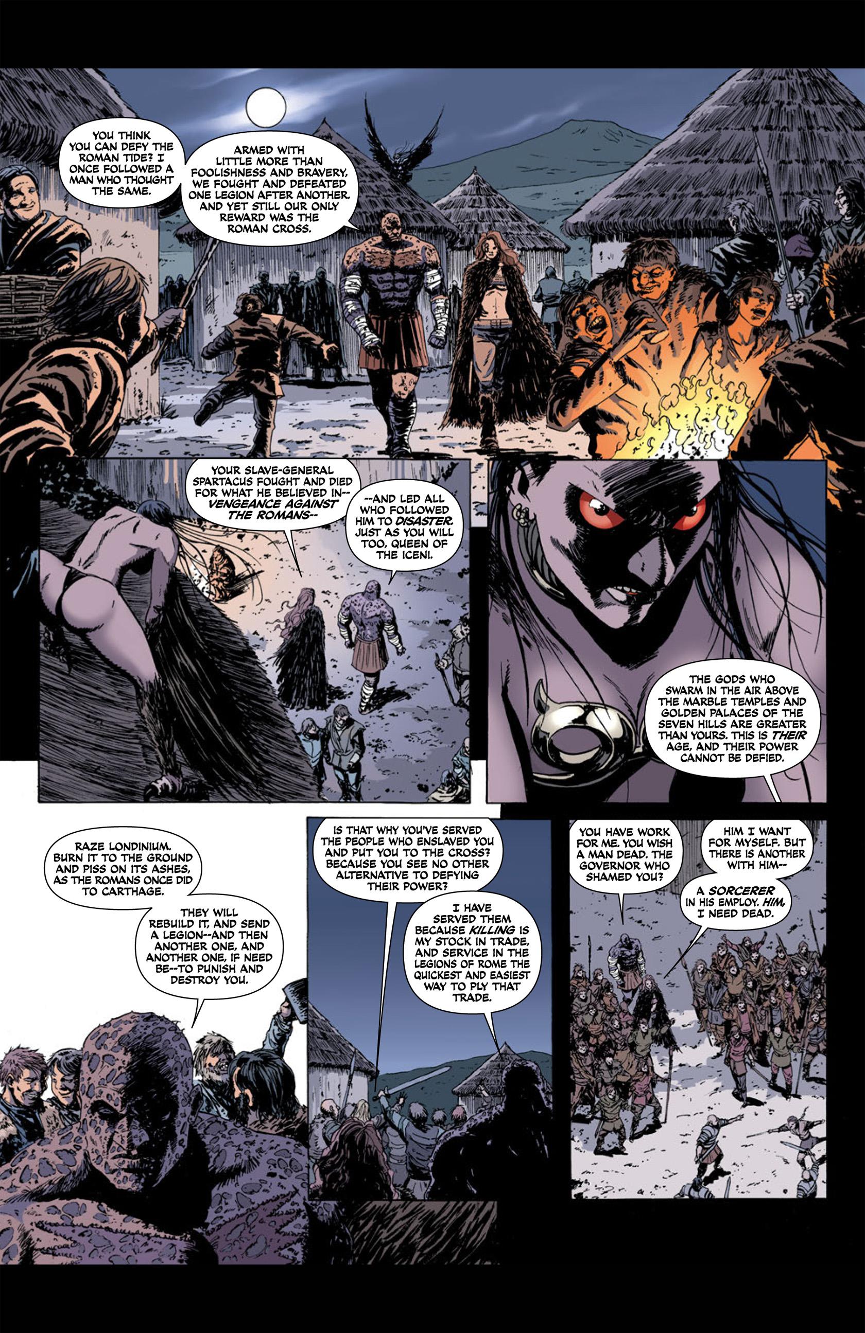 Read online Aquila comic -  Issue #1 - 21