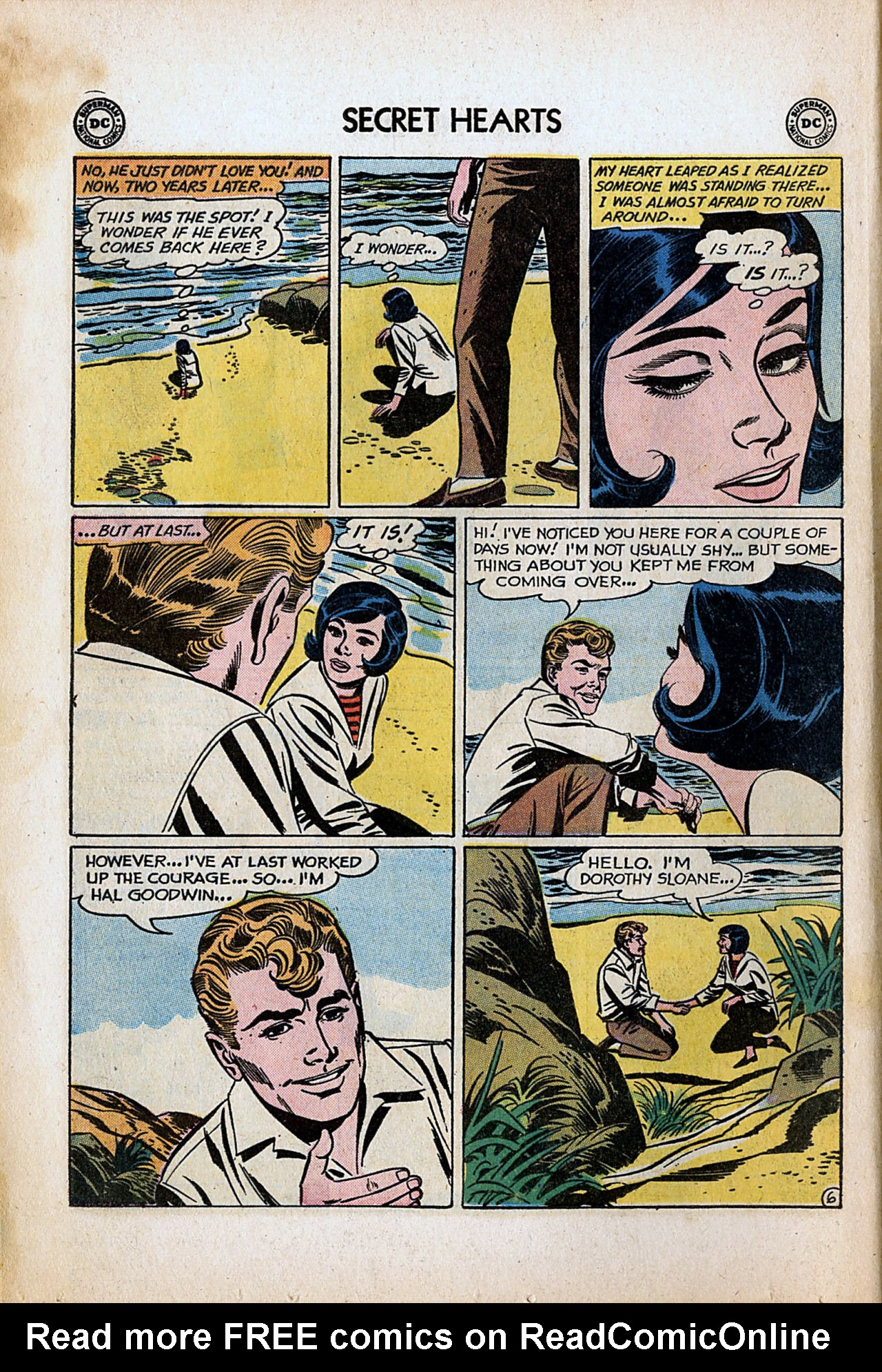 Read online Secret Hearts comic -  Issue #80 - 8
