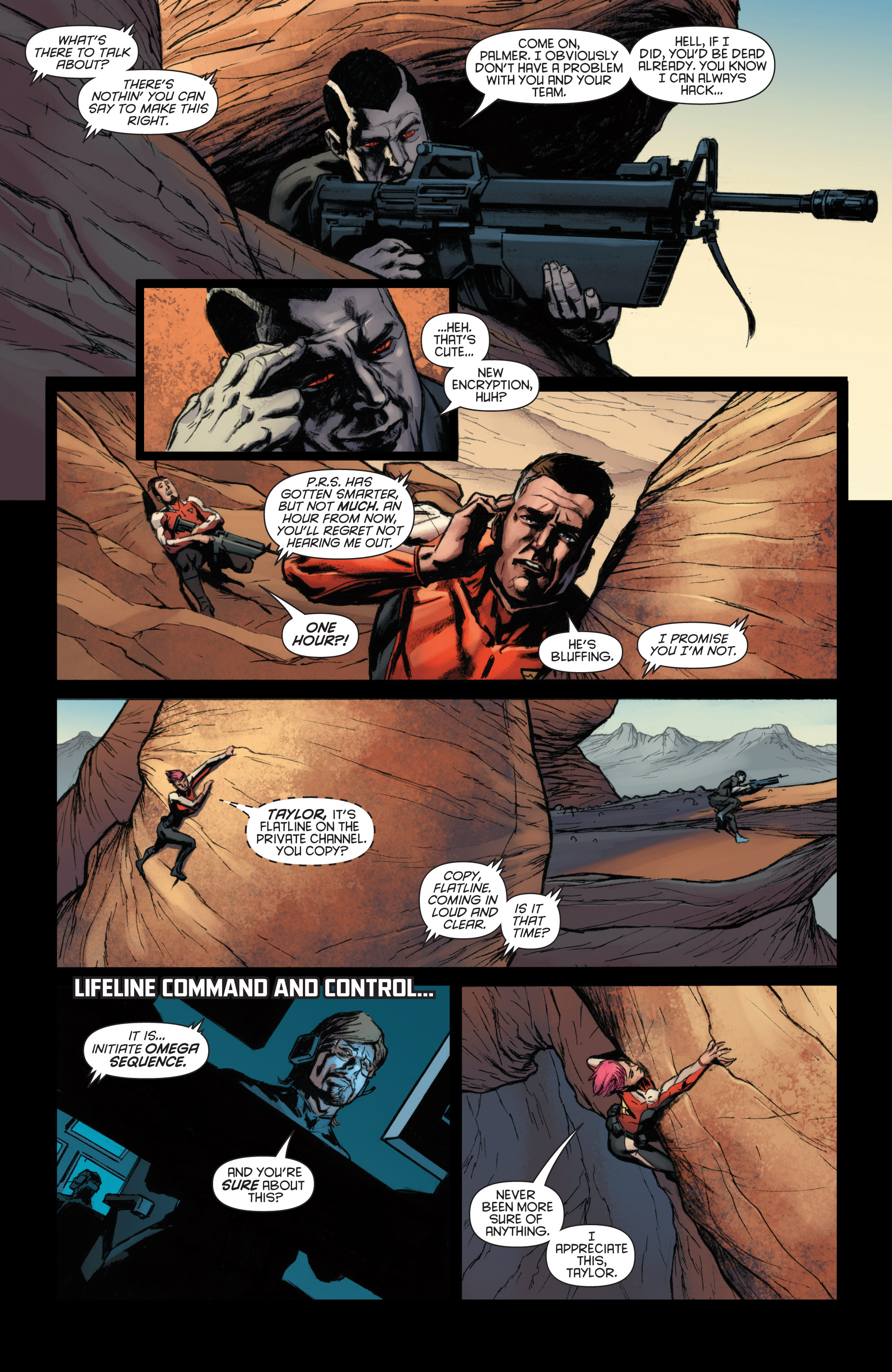 Read online Bloodshot and H.A.R.D.Corps comic -  Issue #22 - 18