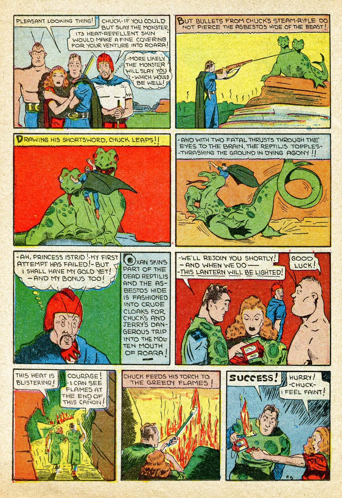 Read online Amazing Man Comics comic -  Issue #8 - 50