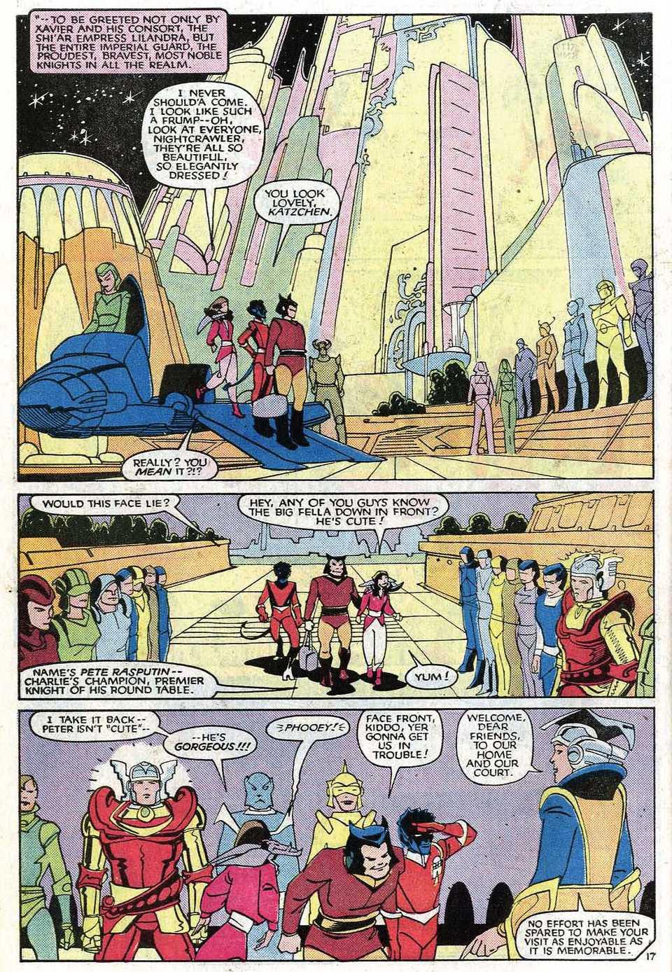 Read online Uncanny X-Men (1963) comic -  Issue # _Annual 8 - 21