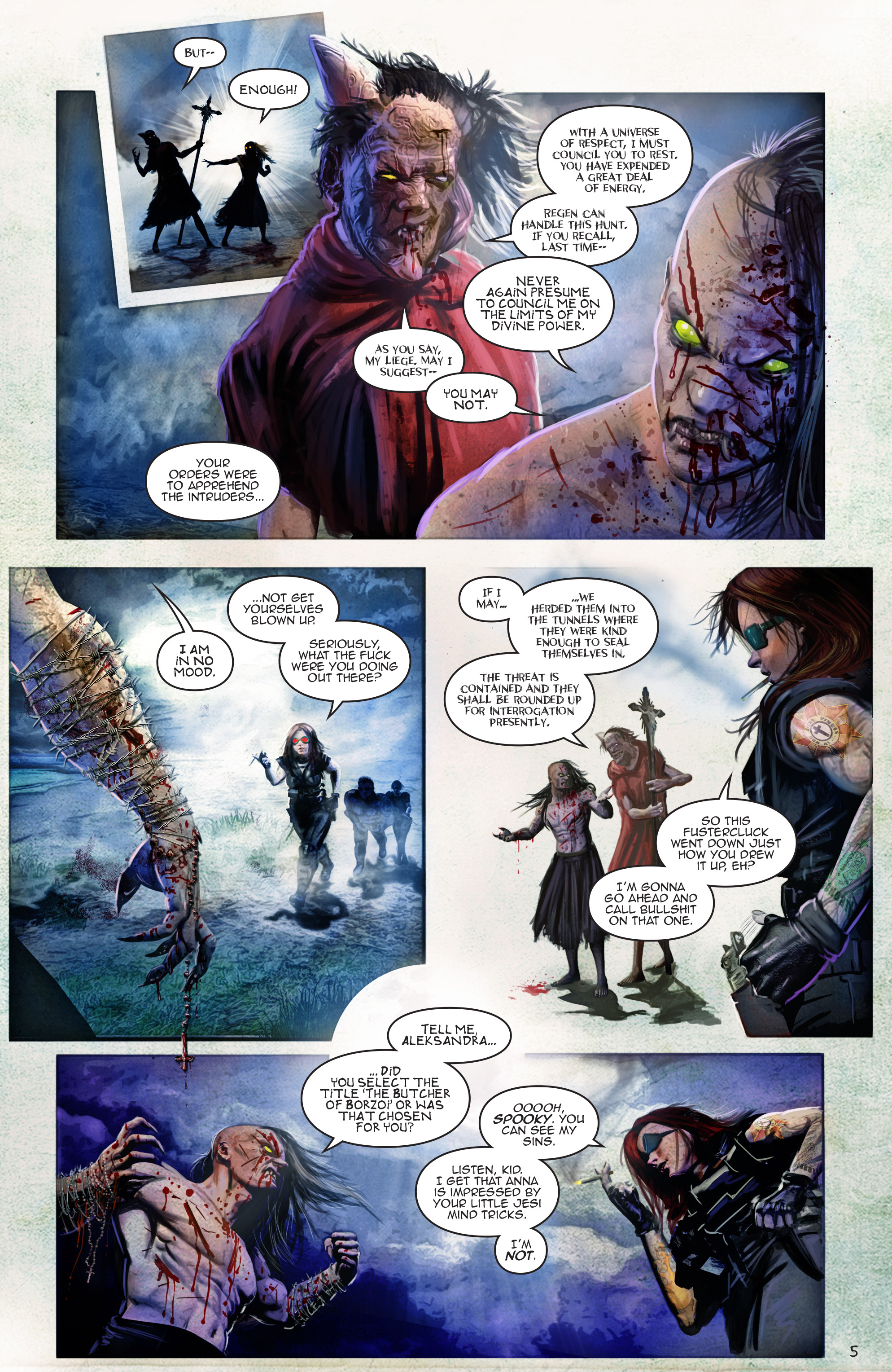 Read online Escape from Jesus Island comic -  Issue #4 - 5