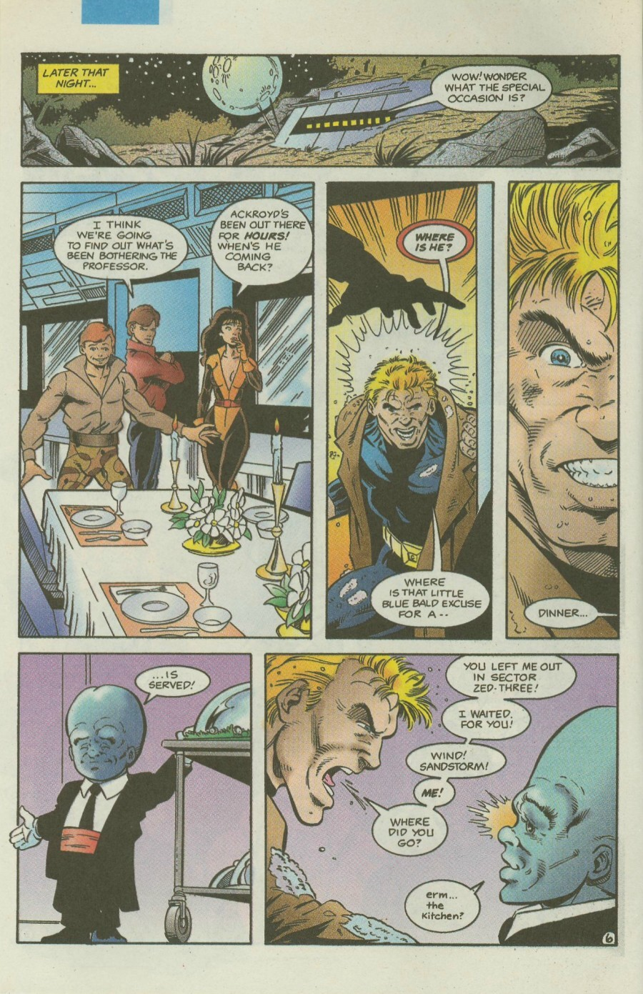 Read online Ex-Mutants comic -  Issue #4 - 7
