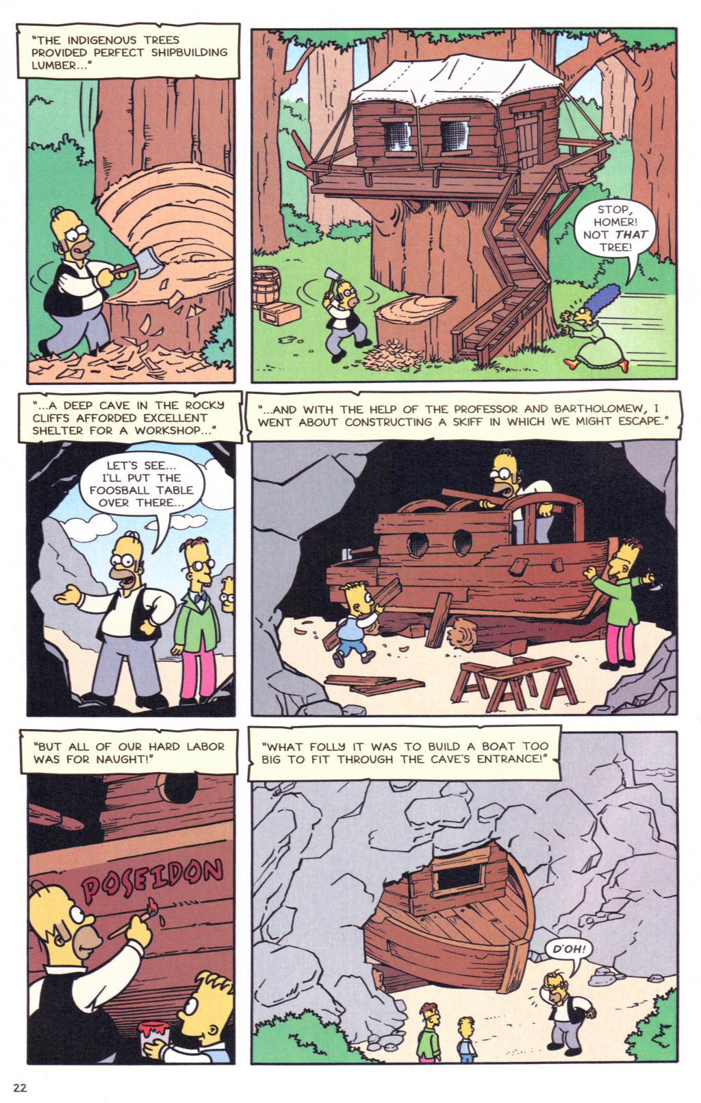 Read online Simpsons Comics comic -  Issue #127 - 19
