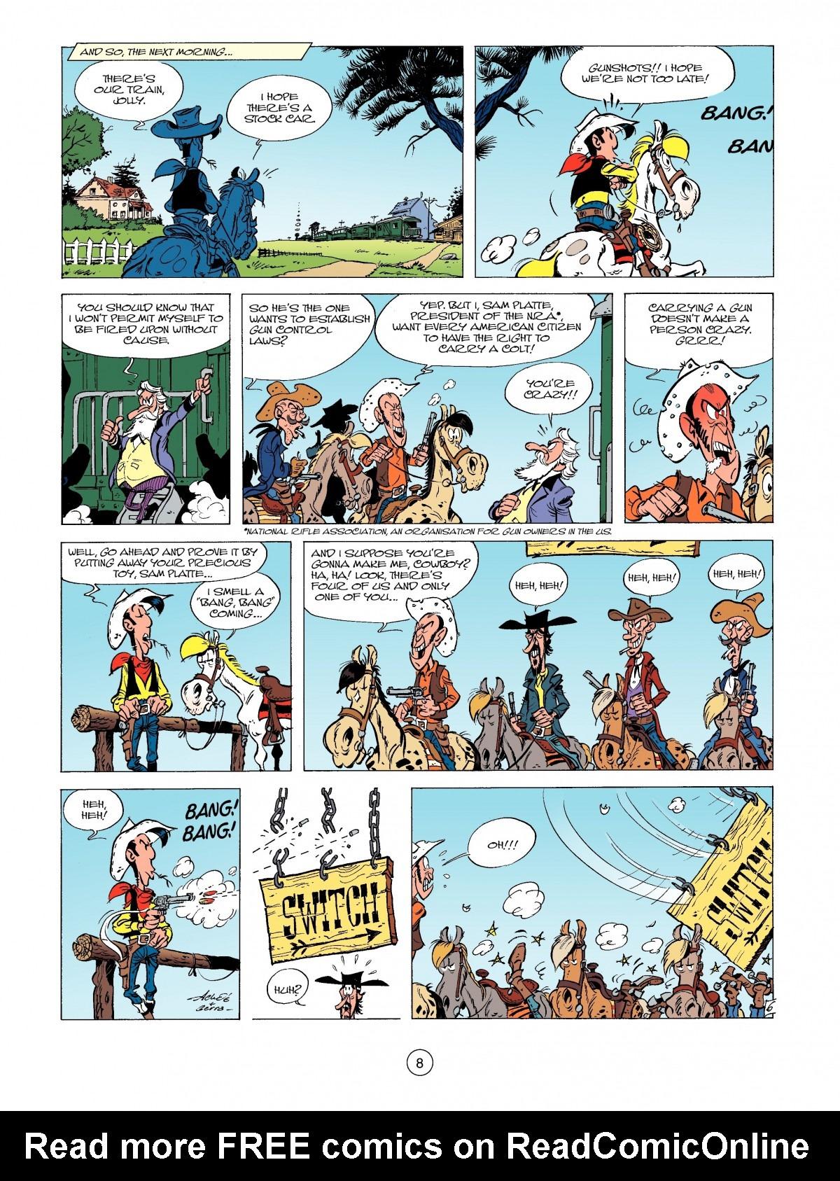 Read online A Lucky Luke Adventure comic -  Issue #39 - 8