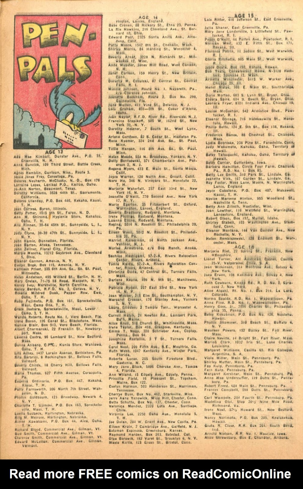 Read online Famous Funnies comic -  Issue #132 - 33