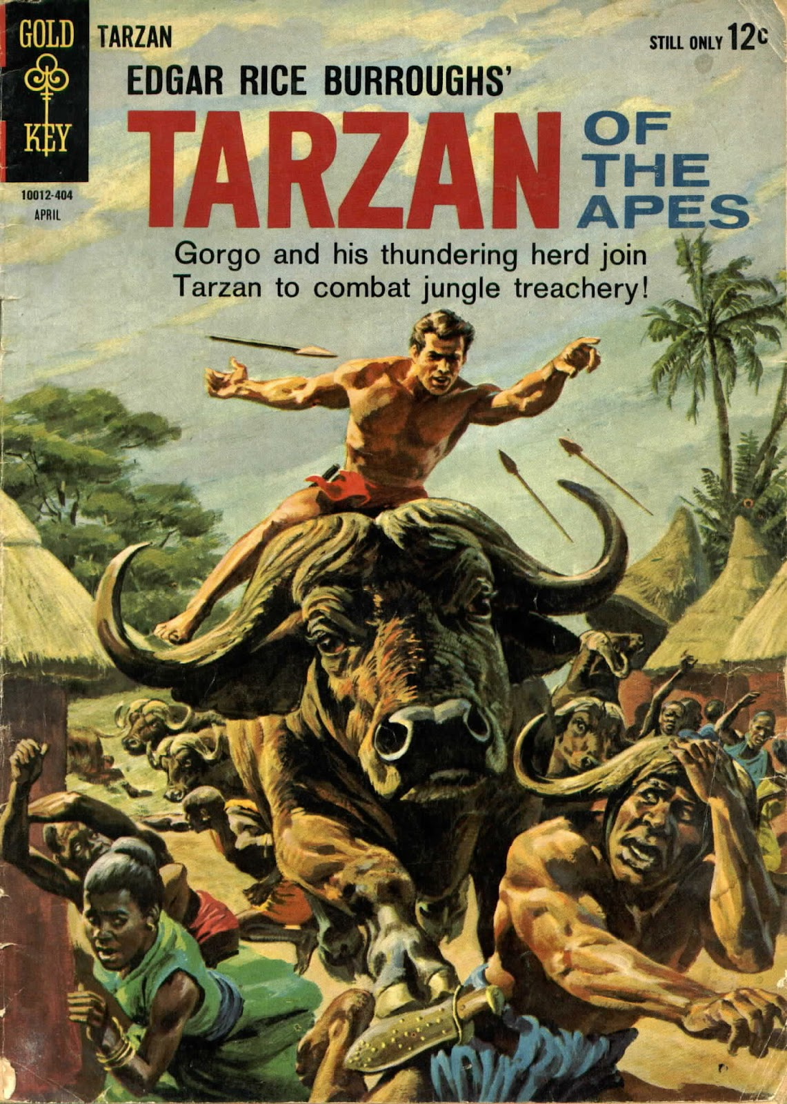 Tarzan (1962) issue 141 - Page 1