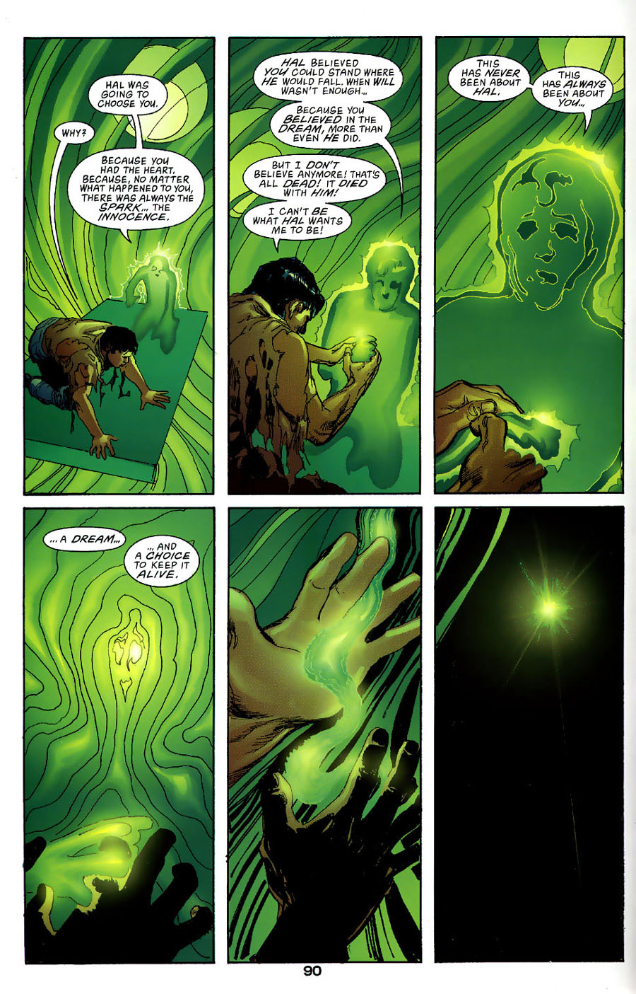 Read online Green Lantern: Legacy: The Last Will and Testament of Hal Jordan comic -  Issue # TPB - 97