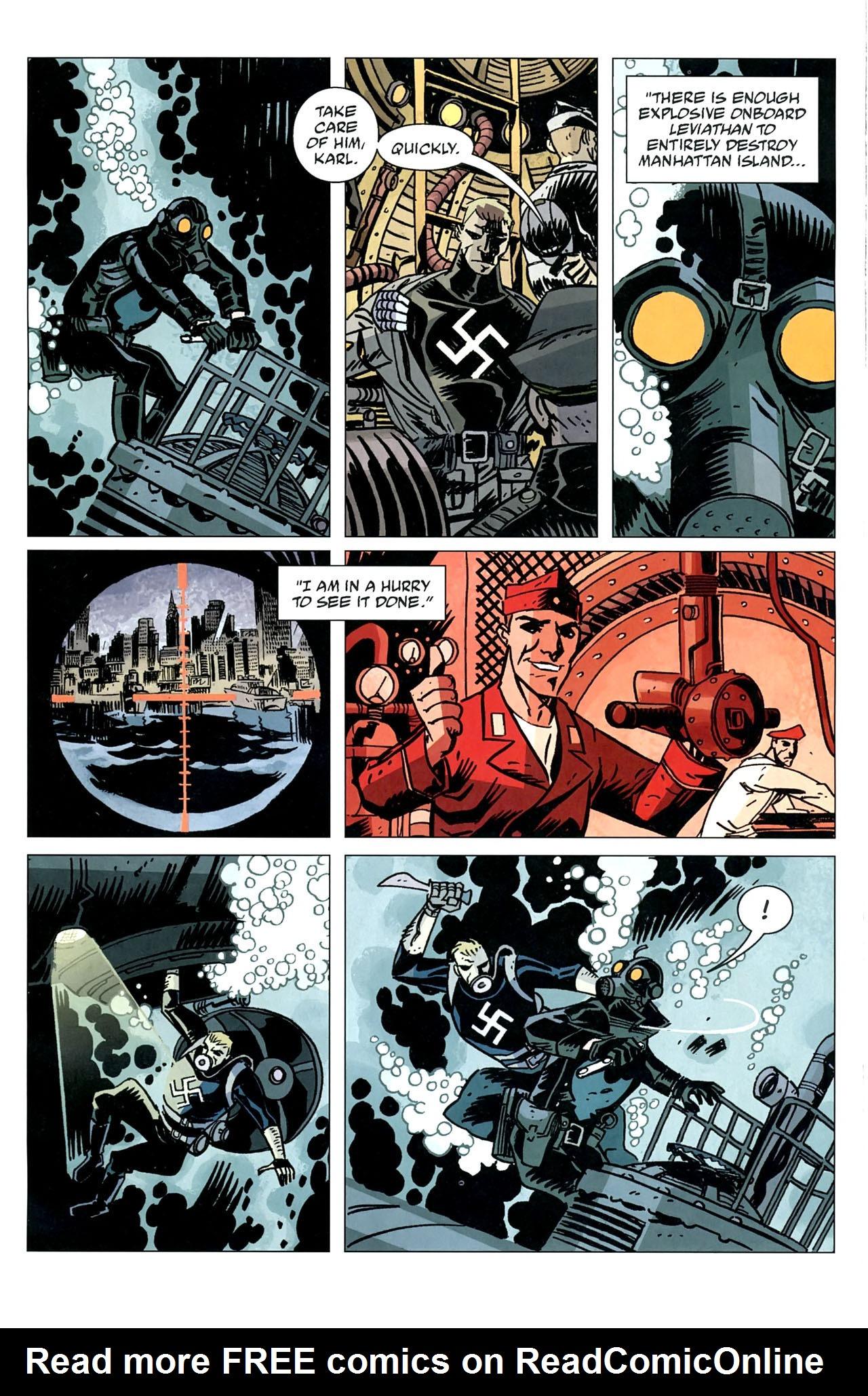 Read online Lobster Johnson: The Iron Prometheus comic -  Issue #5 - 15