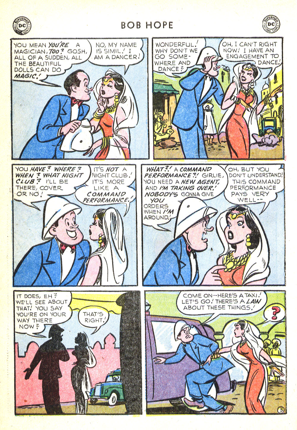 The Adventures of Bob Hope issue 30 - Page 28
