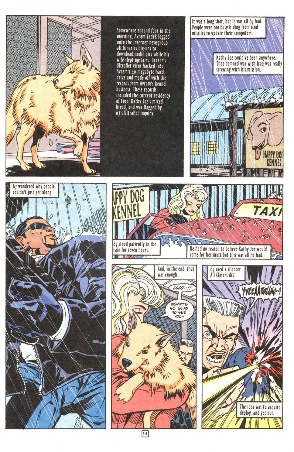 Read online Xero comic -  Issue #7 - 16