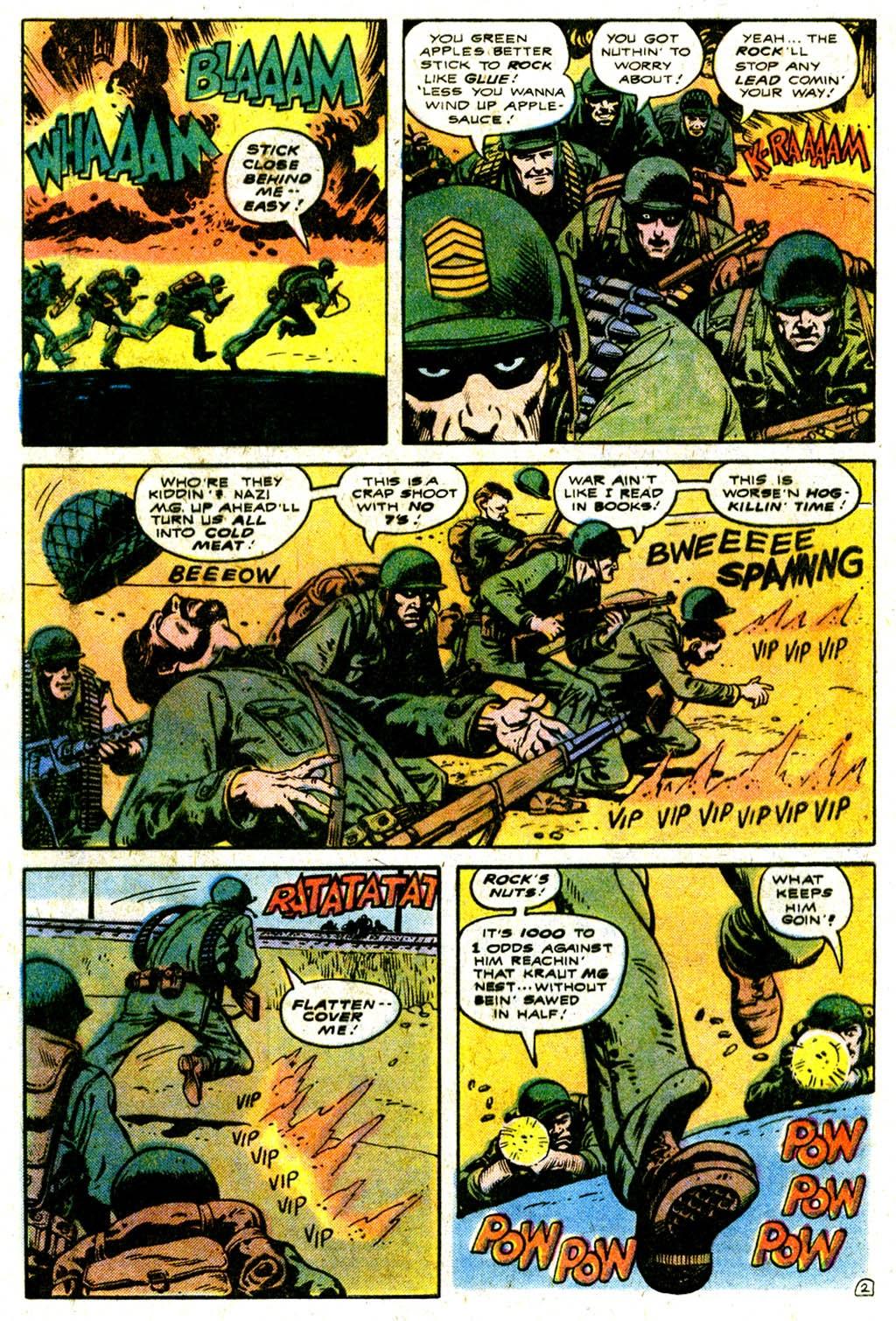Read online Sgt. Rock comic -  Issue #316 - 4