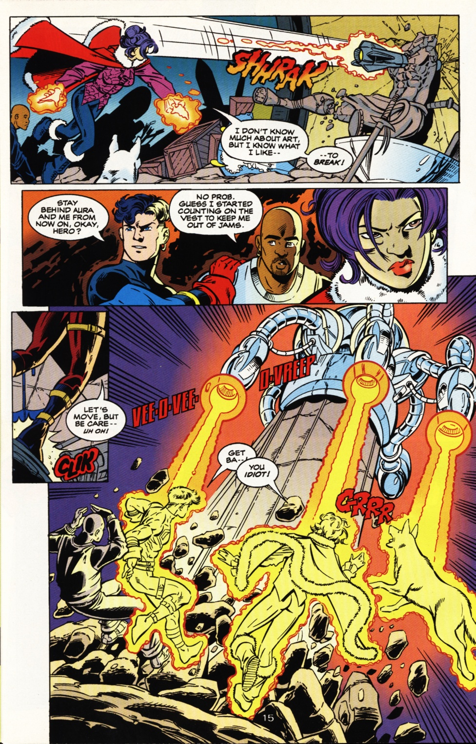 Read online Superboy & The Ravers comic -  Issue #5 - 16