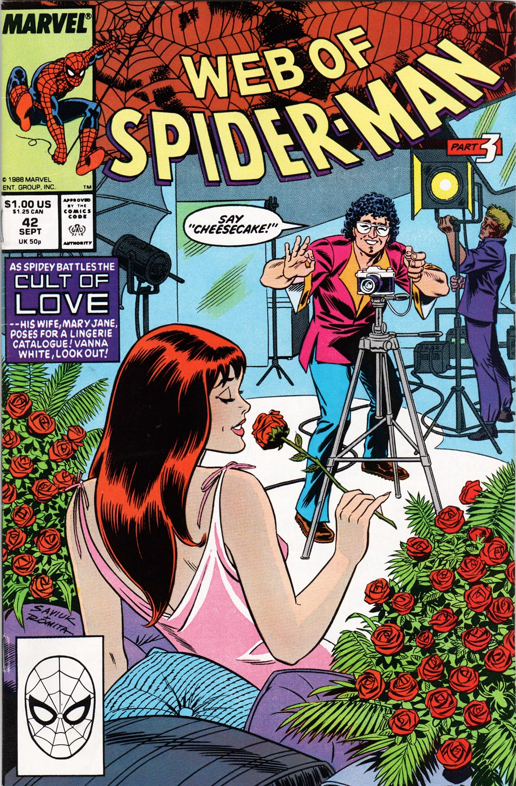 Web of Spider-Man (1985) 42 Page 1