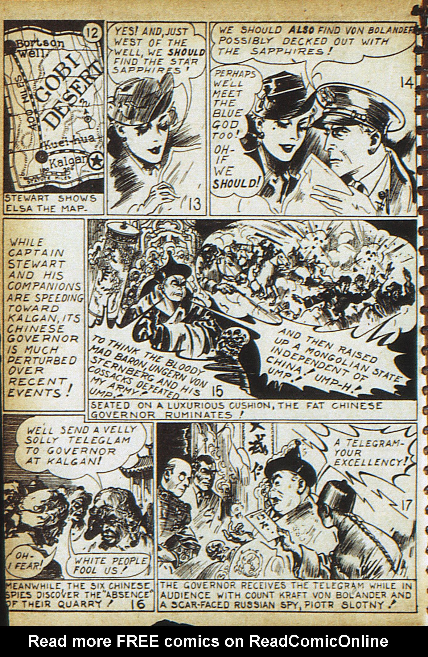 Read online Adventure Comics (1938) comic -  Issue #18 - 33