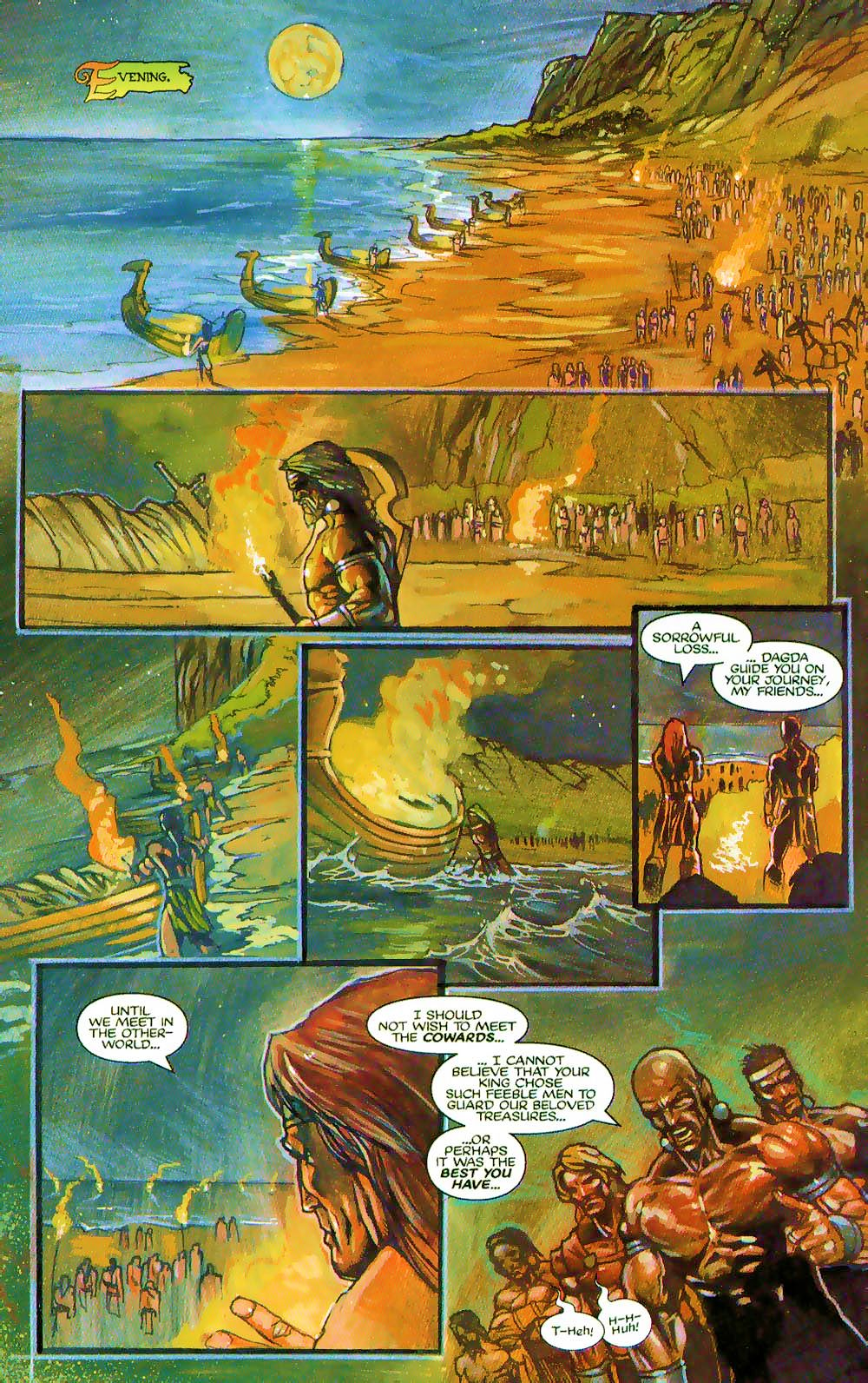 More Than Mortal: Sagas issue 3 - Page 3