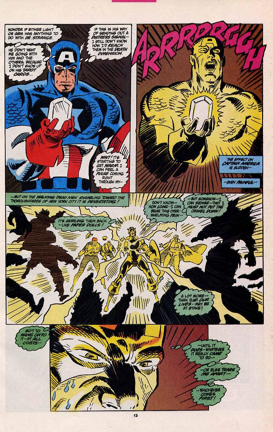 Read online Secret Defenders comic -  Issue #8 - 10