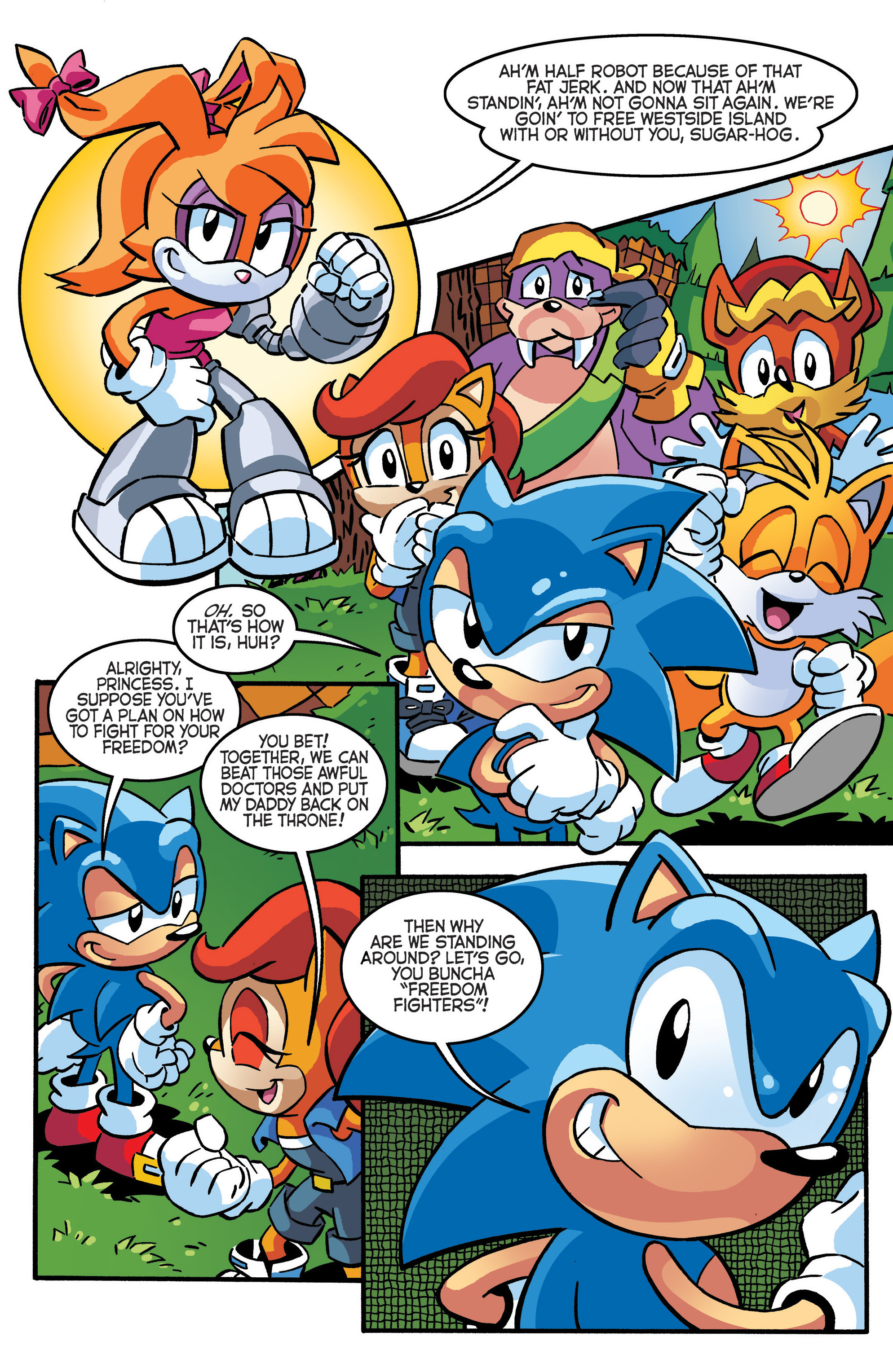 Read online Sonic The Hedgehog comic -  Issue #288 - 21